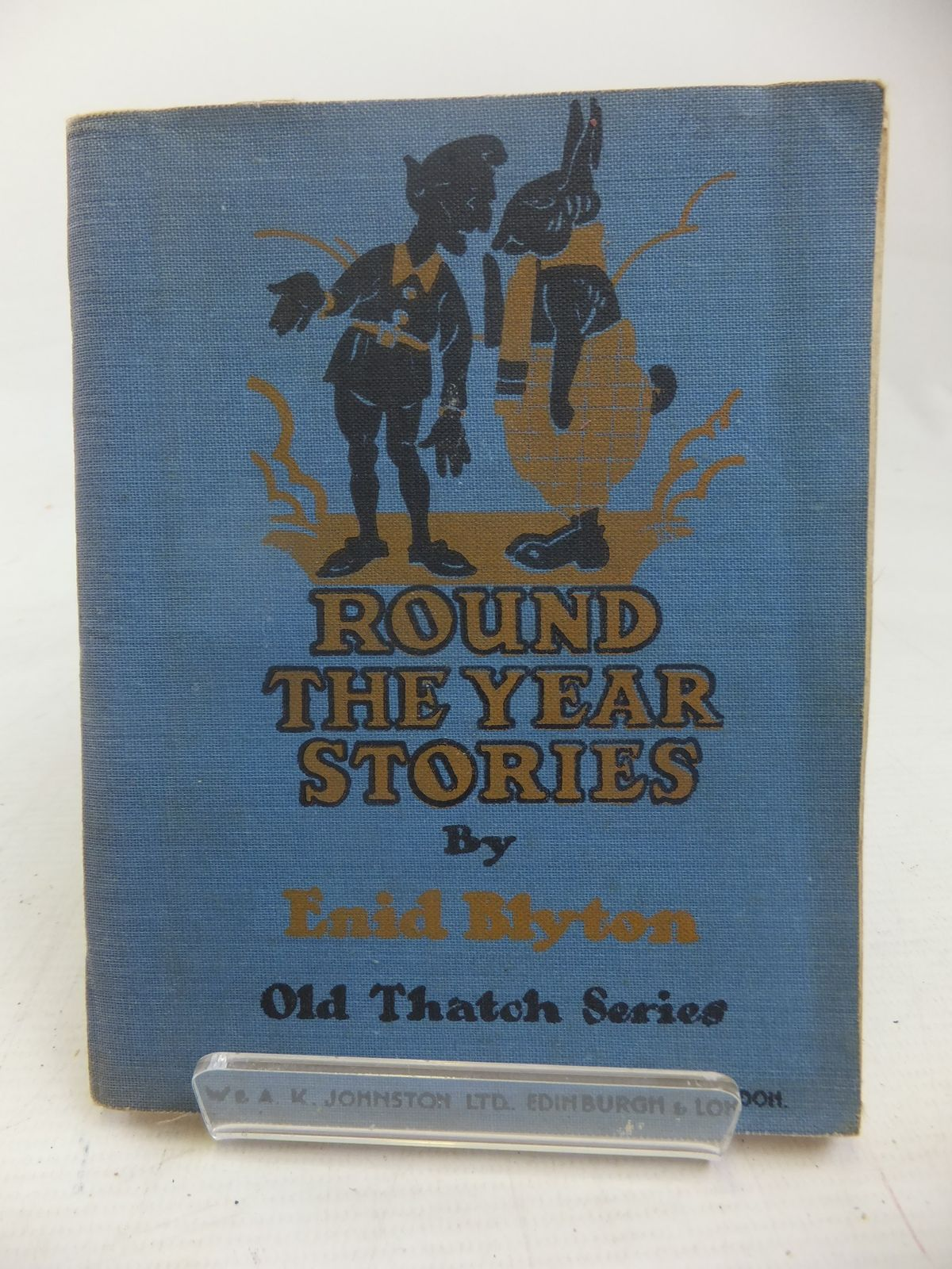 Photo of ROUND THE YEAR STORIES written by Blyton, Enid published by W. & A.K. Johnston Limited (STOCK CODE: 2116915)  for sale by Stella & Rose's Books