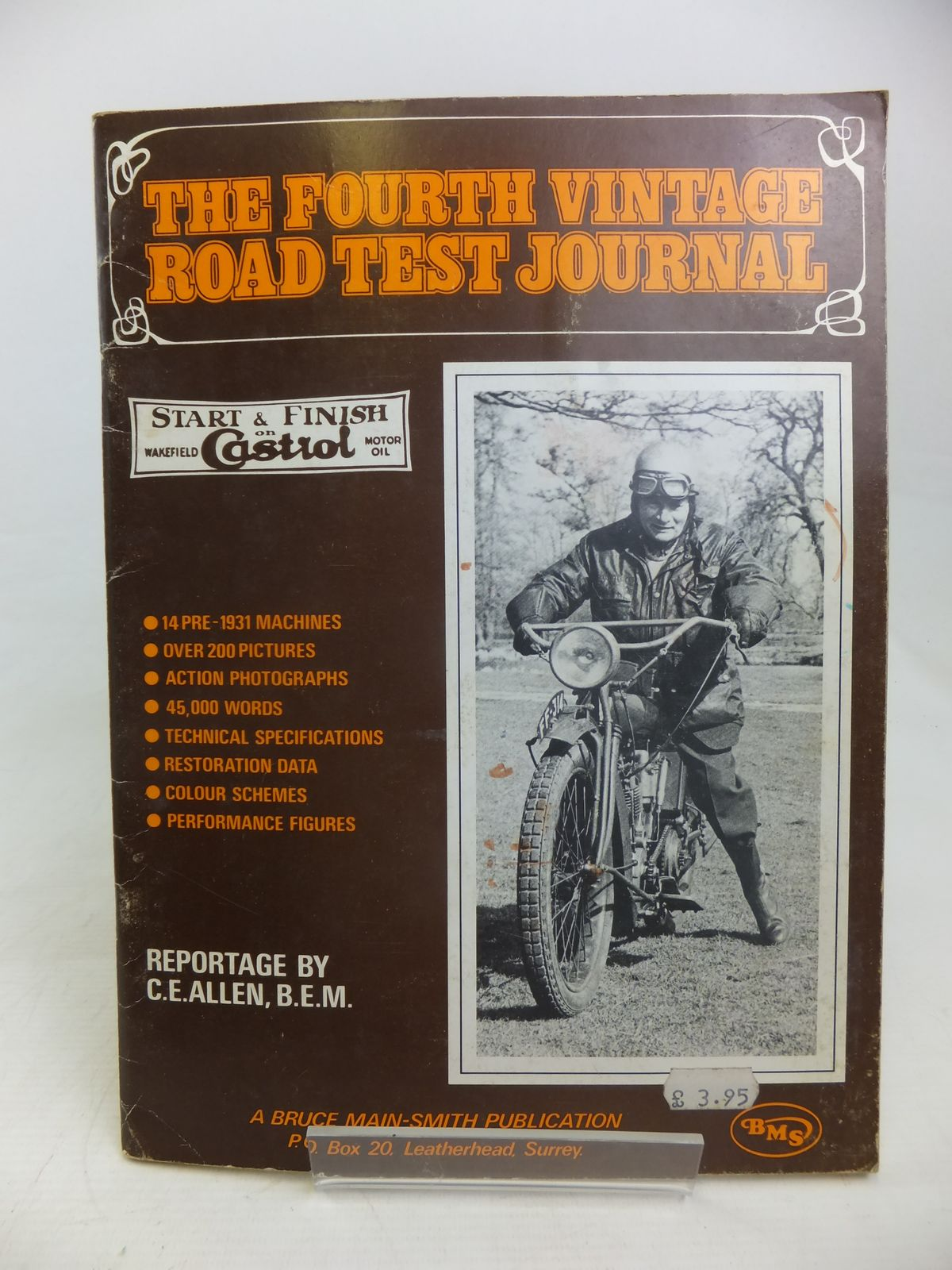 Photo of THE FOURTH VINTAGE ROAD TEST JOURNAL written by Allen, C.E. published by Bruce Main-Smith & Co. Ltd. (STOCK CODE: 2117000)  for sale by Stella & Rose's Books