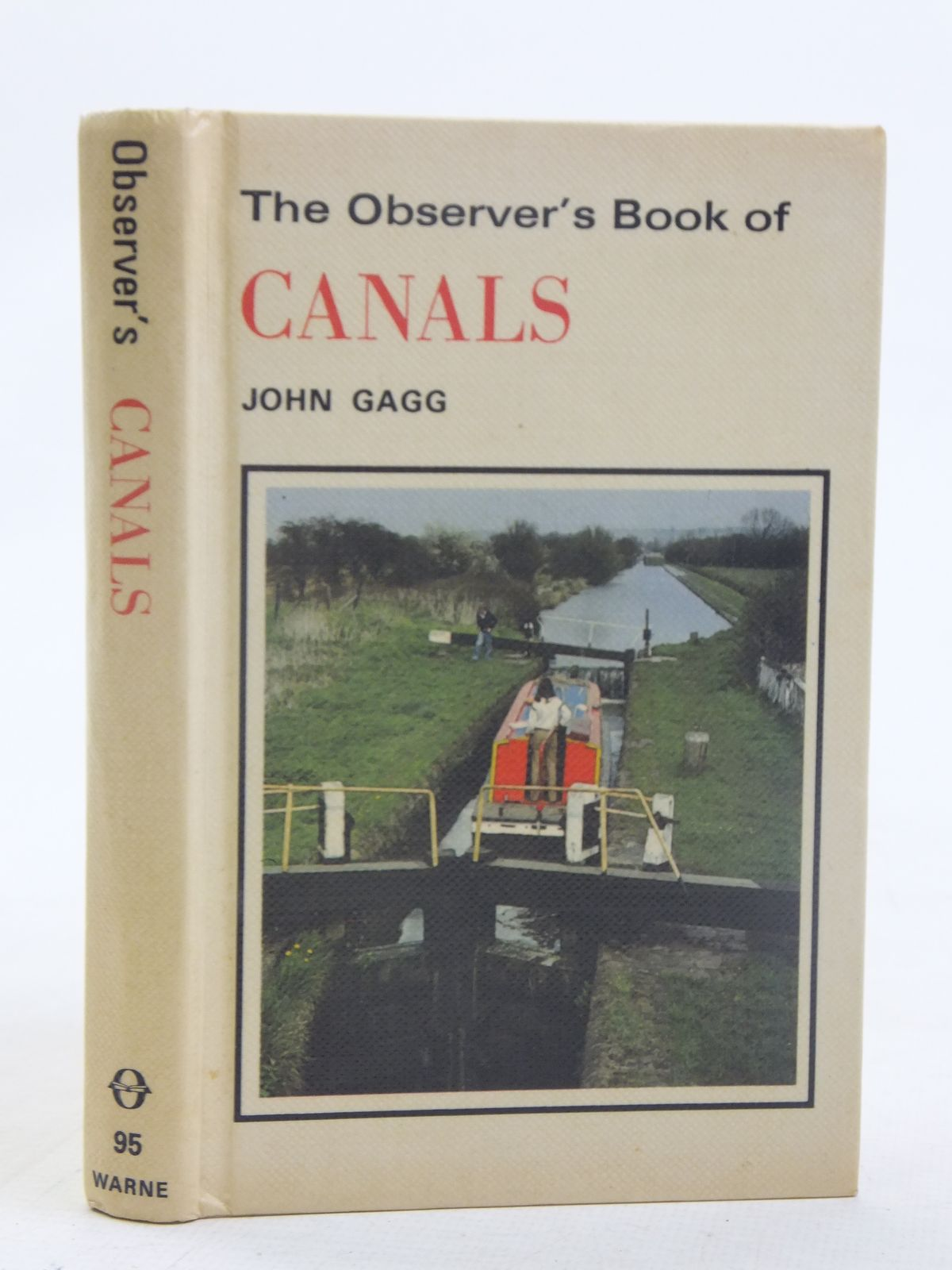 Photo of THE OBSERVER'S BOOK OF CANALS written by Gagg, John illustrated by Wilson, Robert published by Frederick Warne (STOCK CODE: 2117082)  for sale by Stella & Rose's Books