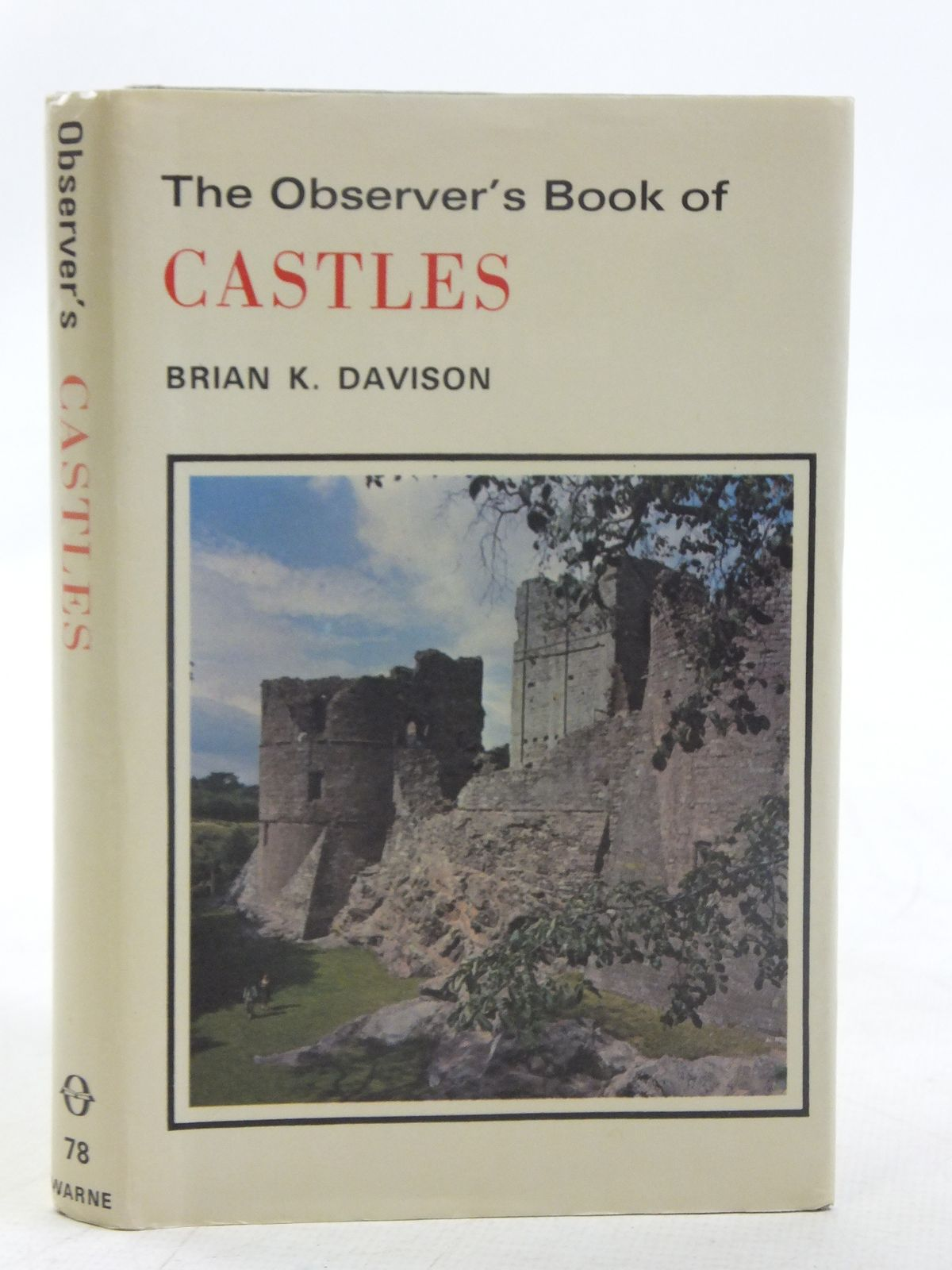 Photo of THE OBSERVER'S BOOK OF CASTLES written by Davison, Brian K. illustrated by Dimond, Jasper published by Frederick Warne (STOCK CODE: 2117100)  for sale by Stella & Rose's Books