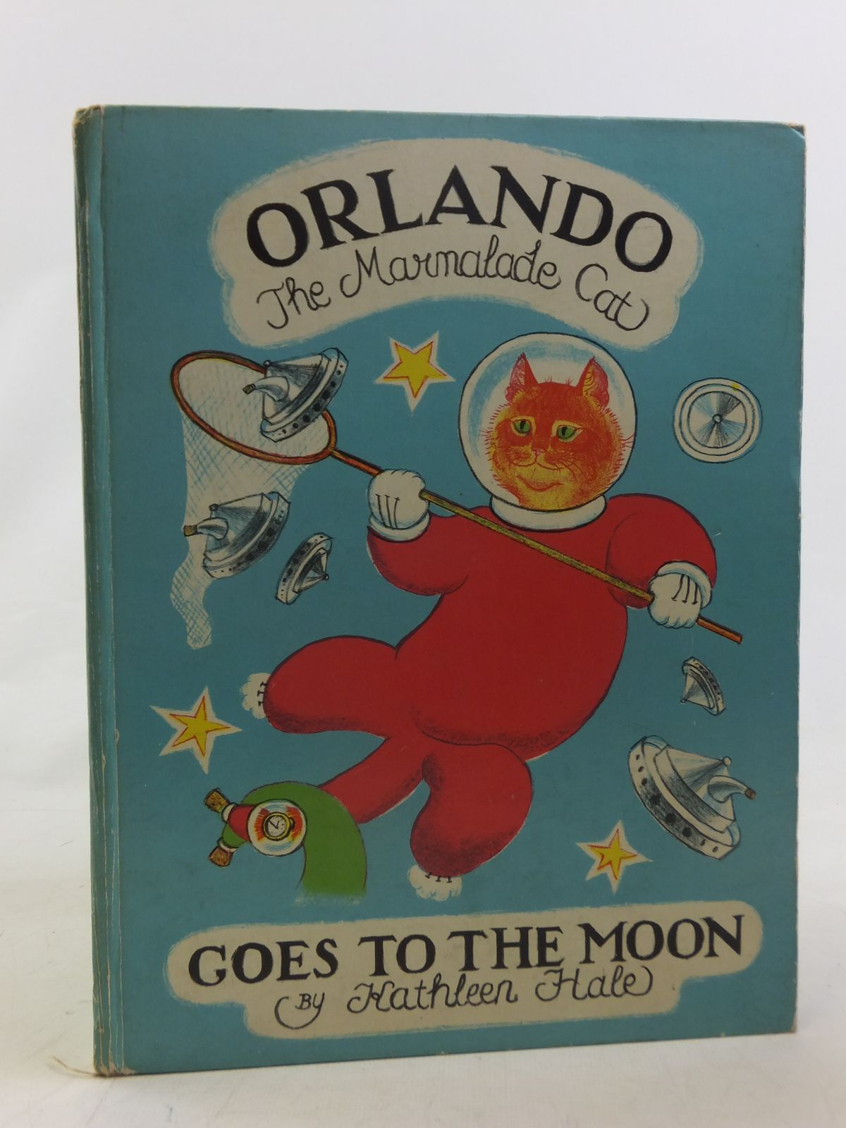 Photo of ORLANDO (THE MARMALADE CAT) GOES TO THE MOON written by Hale, Kathleen illustrated by Hale, Kathleen published by John Murray (STOCK CODE: 2117117)  for sale by Stella & Rose's Books