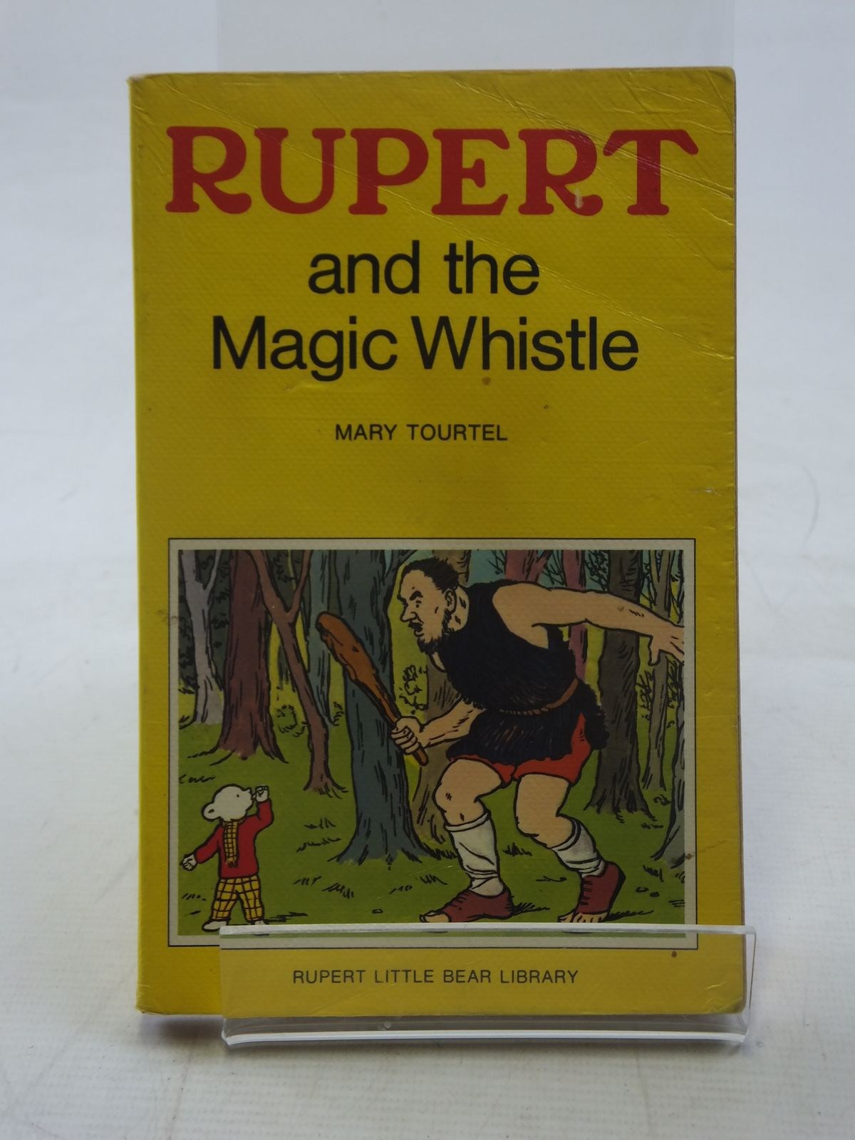 Photo of RUPERT AND THE MAGIC WHISTLE - RUPERT LITTLE BEAR LIBRARY No. 9 (WOOLWORTH) written by Tourtel, Mary illustrated by Tourtel, Mary published by Sampson Low, Marston & Co. Ltd. (STOCK CODE: 2117147)  for sale by Stella & Rose's Books