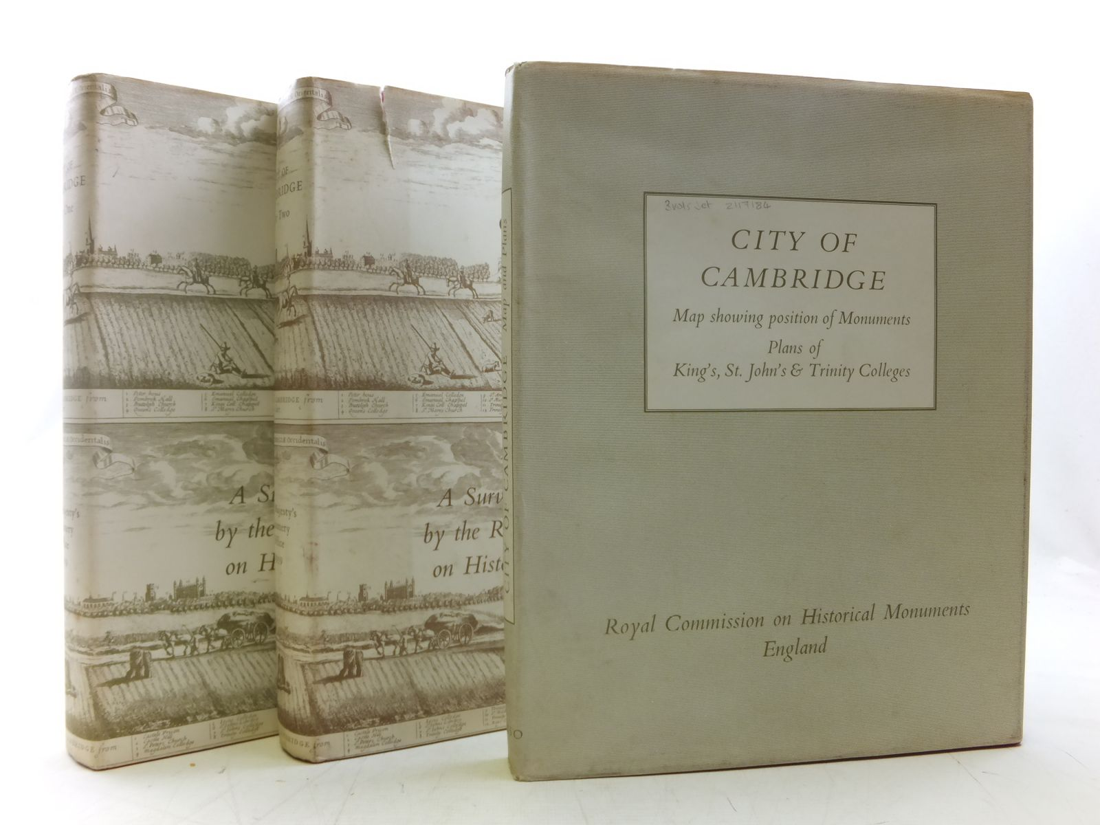 Photo of AN INVENTORY OF THE HISTORICAL MONUMENTS IN THE CITY OF CAMBRIDGE published by Royal Commission On The Historical Monuments Of England (STOCK CODE: 2117184)  for sale by Stella & Rose's Books