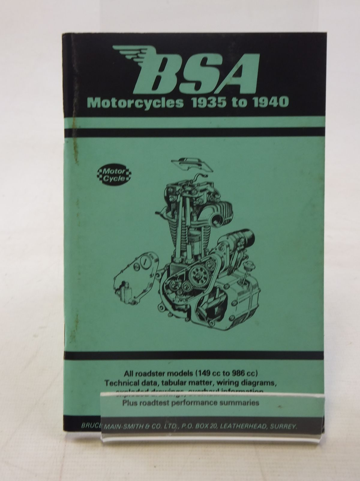 Bsa Motorcycles 1935 To 1940 Stock Code 2117208 Stella Roses Wiring Diagram Photo Of Published By Bruce Main Smith Co