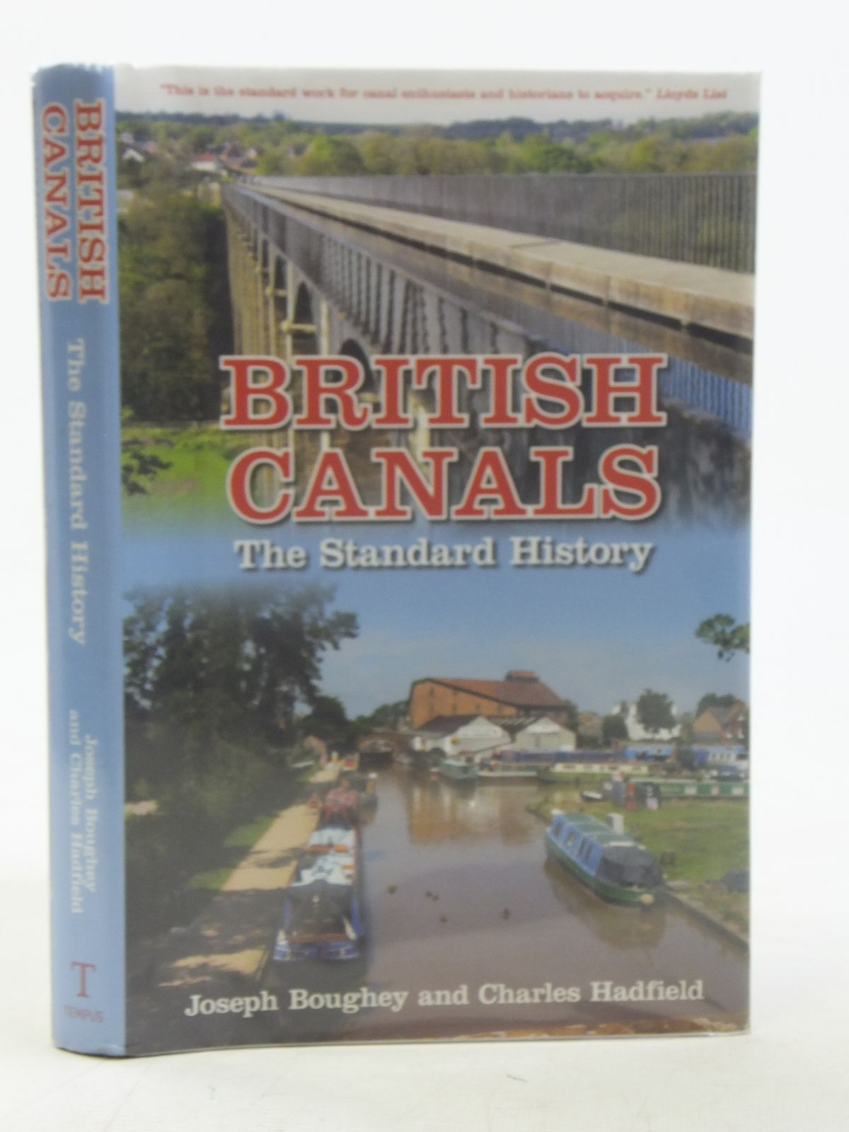 Photo of BRITISH CANALS THE STANDARD HISTORY written by Boughey, Joseph<br />Hadfield, Charles published by Tempus (STOCK CODE: 2117234)  for sale by Stella & Rose's Books