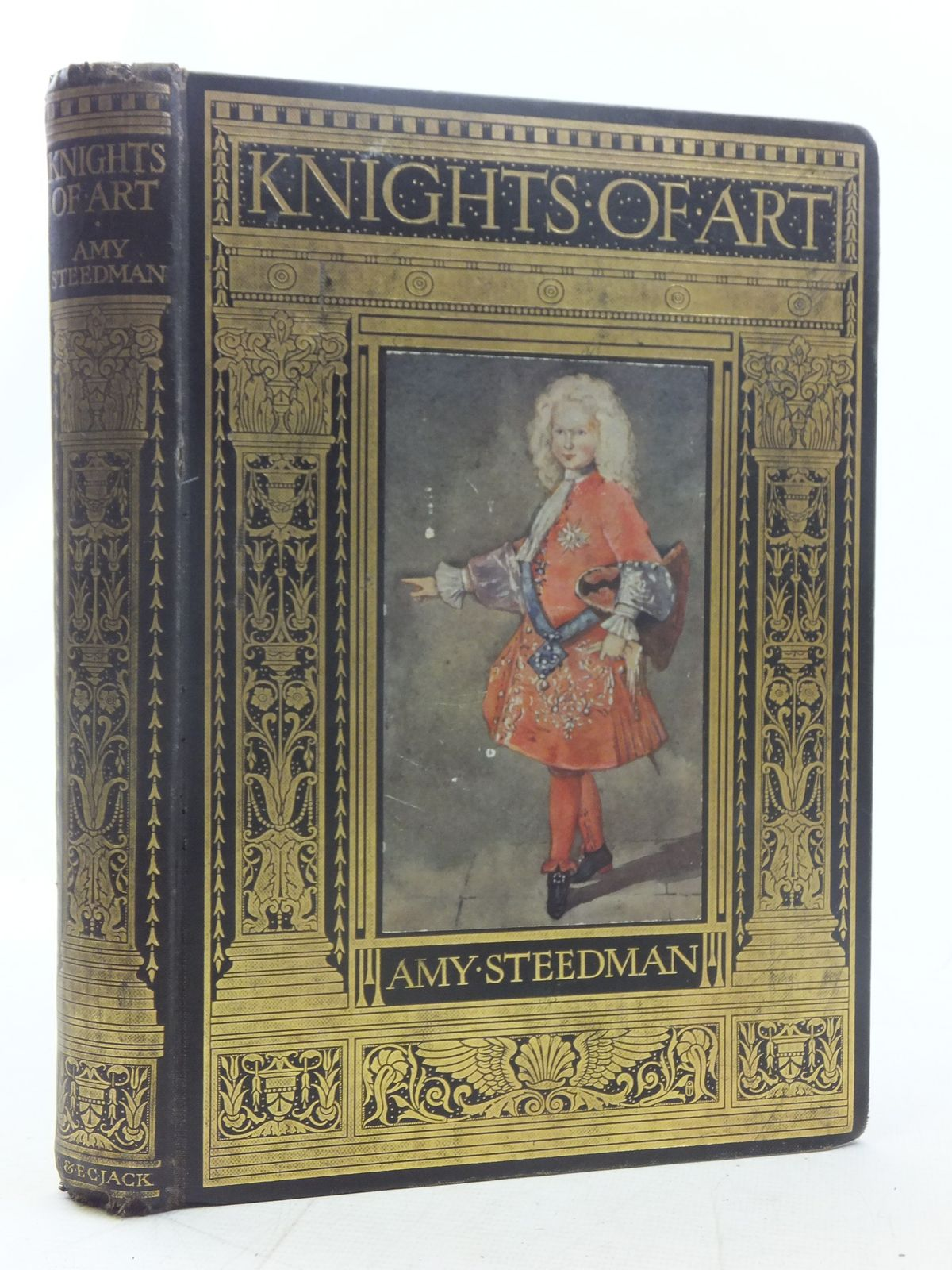 Photo of KNIGHTS OF ART written by Steedman, Amy illustrated by Steedman, Mary published by T.C. & E.C. Jack (STOCK CODE: 2117257)  for sale by Stella & Rose's Books