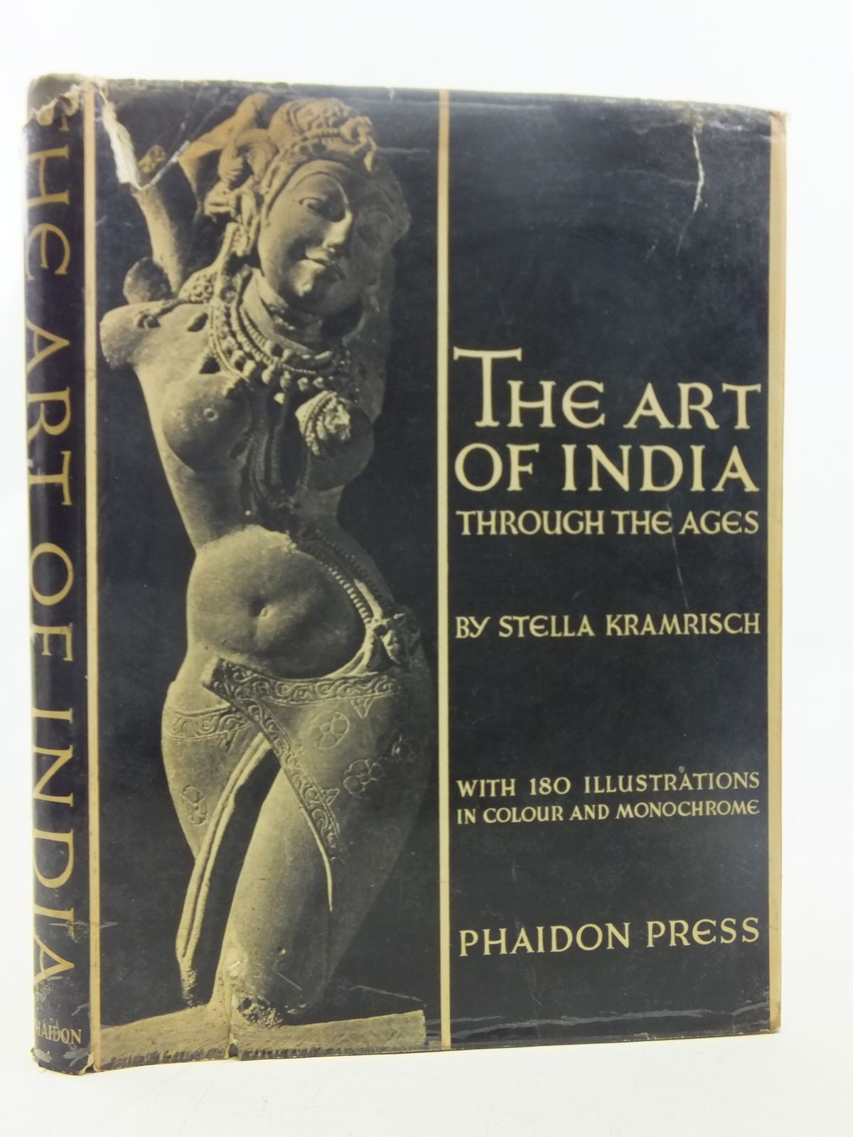 Photo of THE ART OF INDIA written by Kramrisch, Stella published by Phaidon Press (STOCK CODE: 2117311)  for sale by Stella & Rose's Books