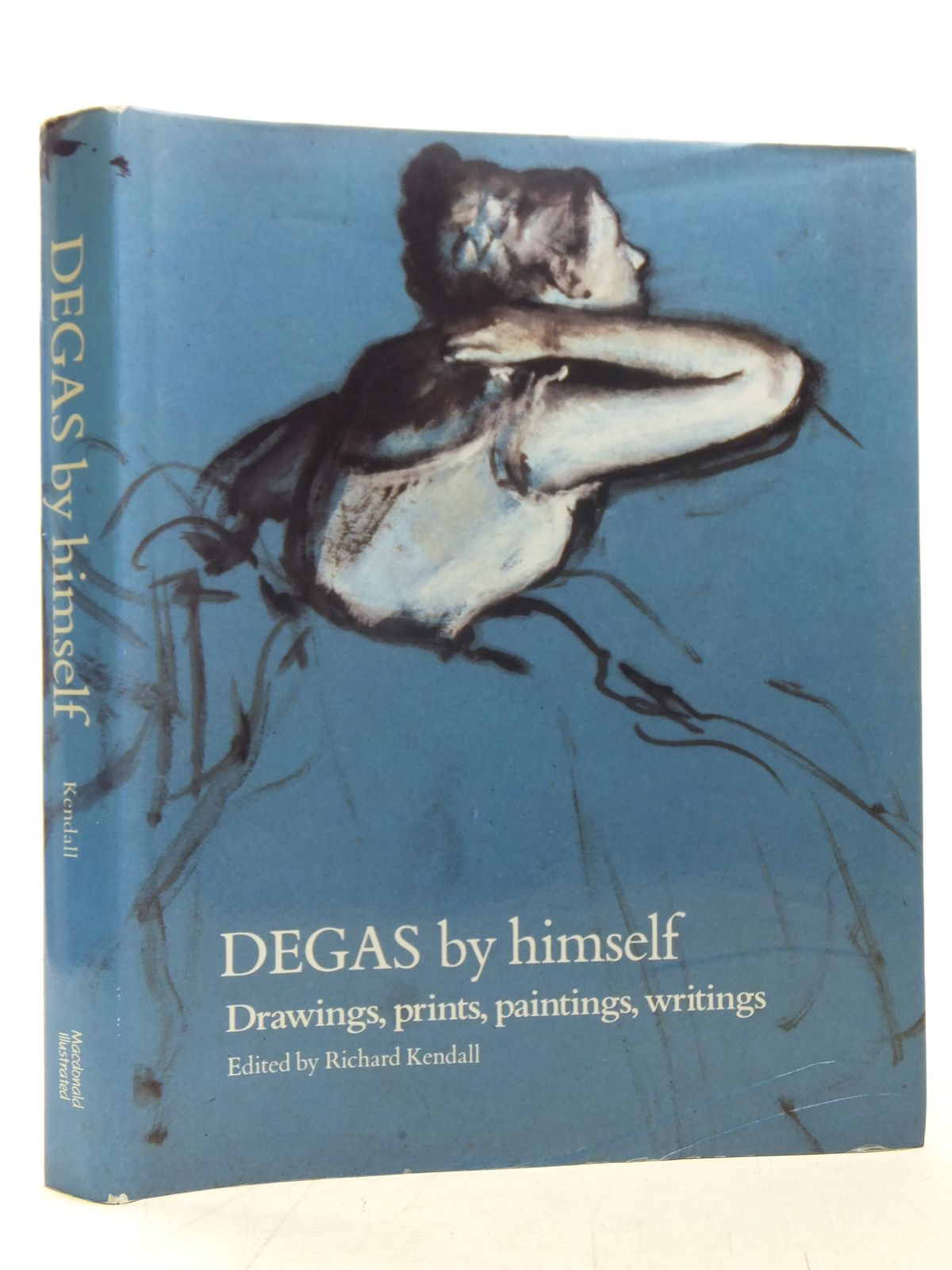 Photo of DEGAS BY HIMSELF written by Kendall, Richard illustrated by Degas, Edgar published by Macdonald & Co. (Publishers) Ltd. (STOCK CODE: 2117312)  for sale by Stella & Rose's Books