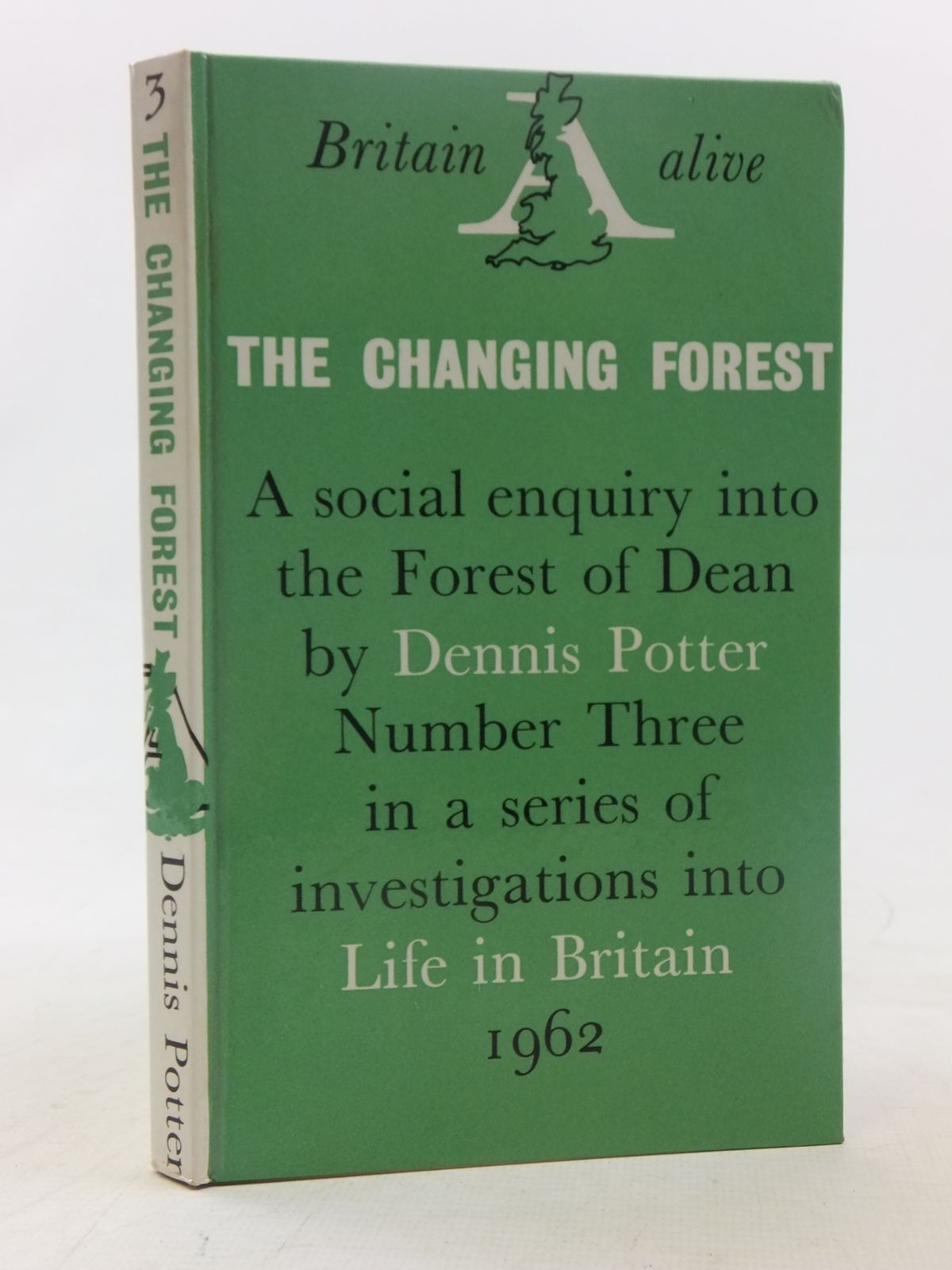 Photo of THE CHANGING FOREST: LIFE IN THE FOREST OF DEAN TODAY written by Potter, Dennis published by Secker & Warburg (STOCK CODE: 2117352)  for sale by Stella & Rose's Books