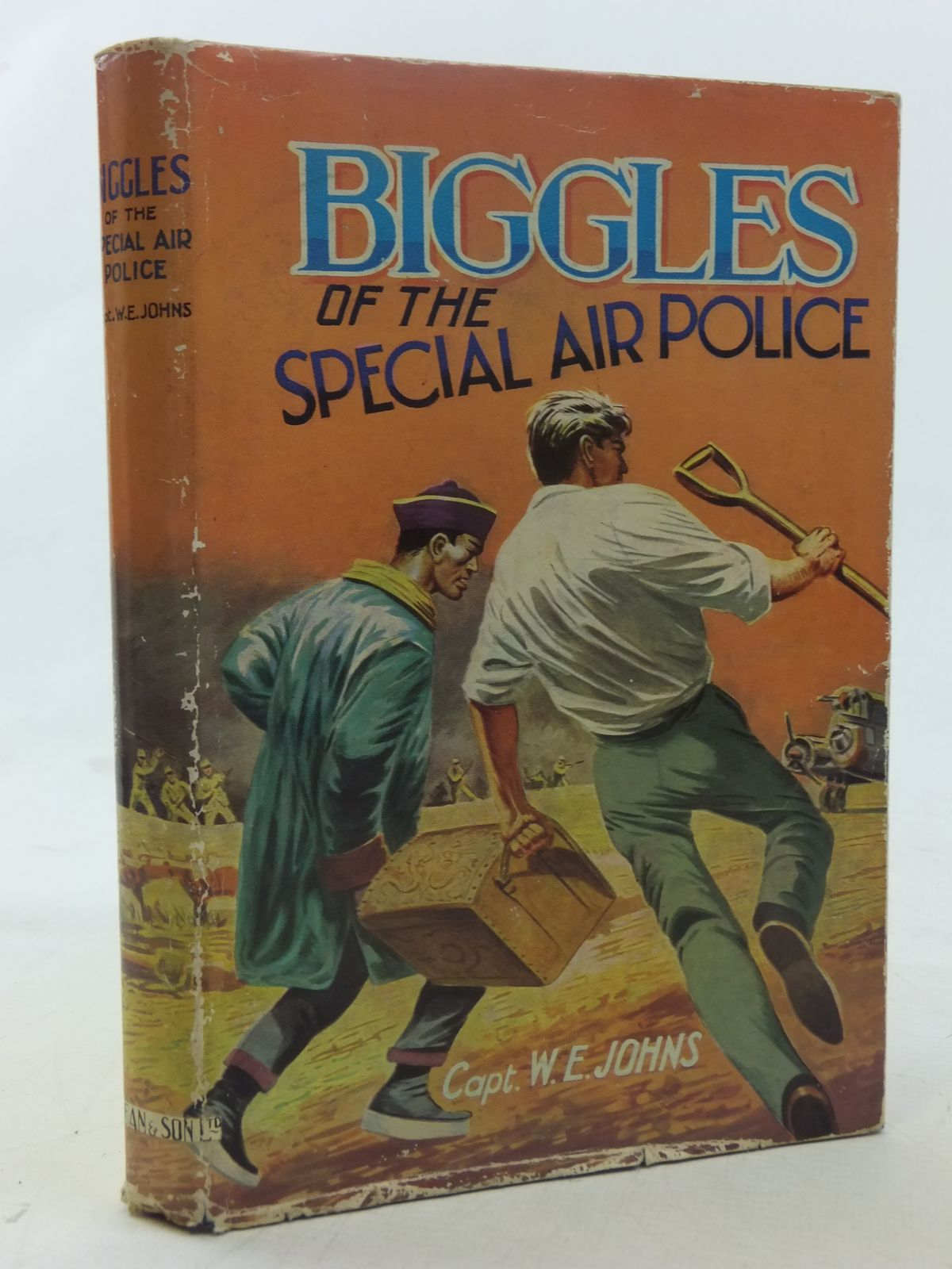 Photo of BIGGLES OF THE SPECIAL AIR POLICE written by Johns, W.E. published by Dean & Son Ltd. (STOCK CODE: 2117417)  for sale by Stella & Rose's Books