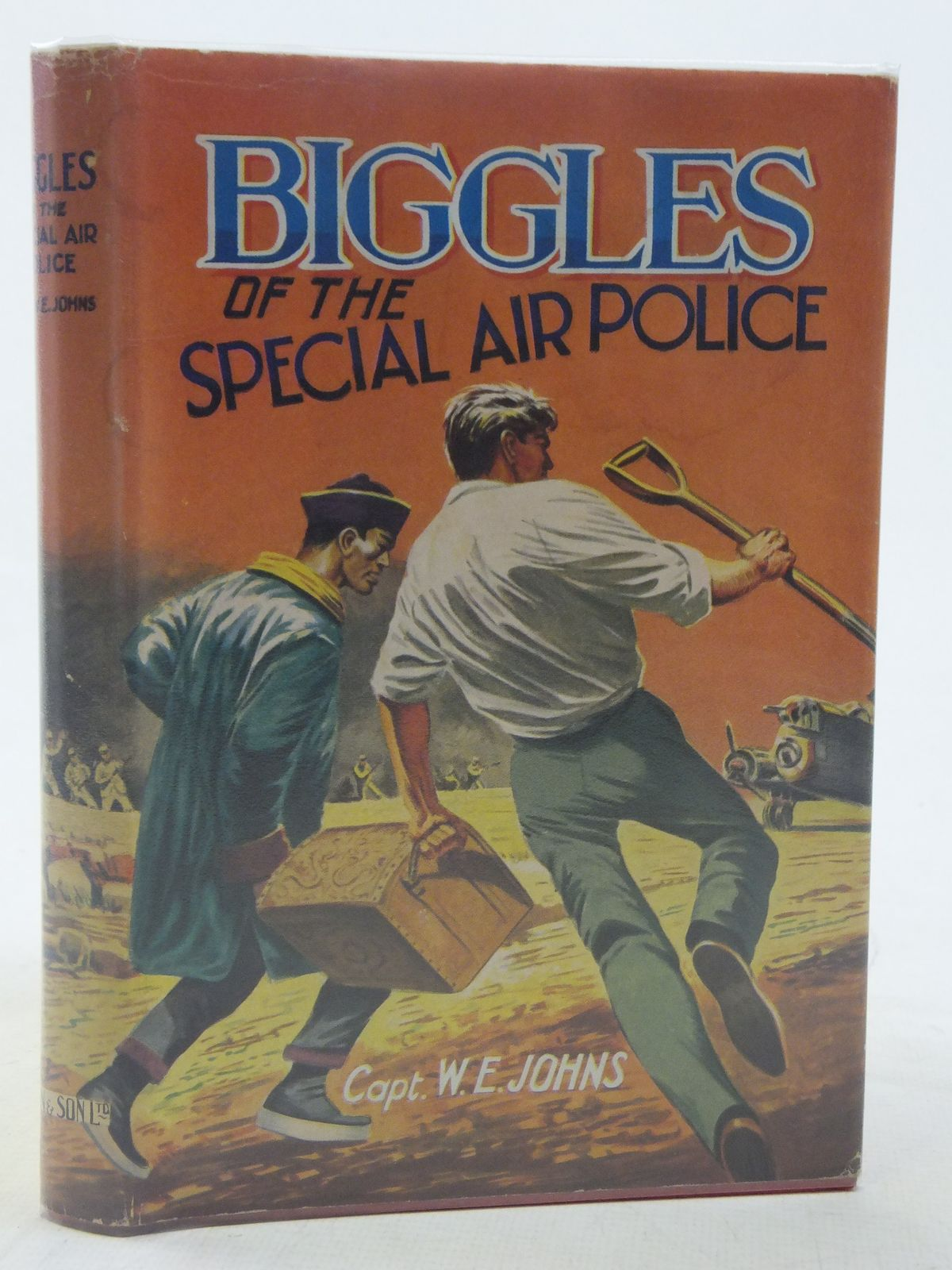 Photo of BIGGLES OF THE SPECIAL AIR POLICE written by Johns, W.E. published by Dean & Son Ltd. (STOCK CODE: 2117427)  for sale by Stella & Rose's Books