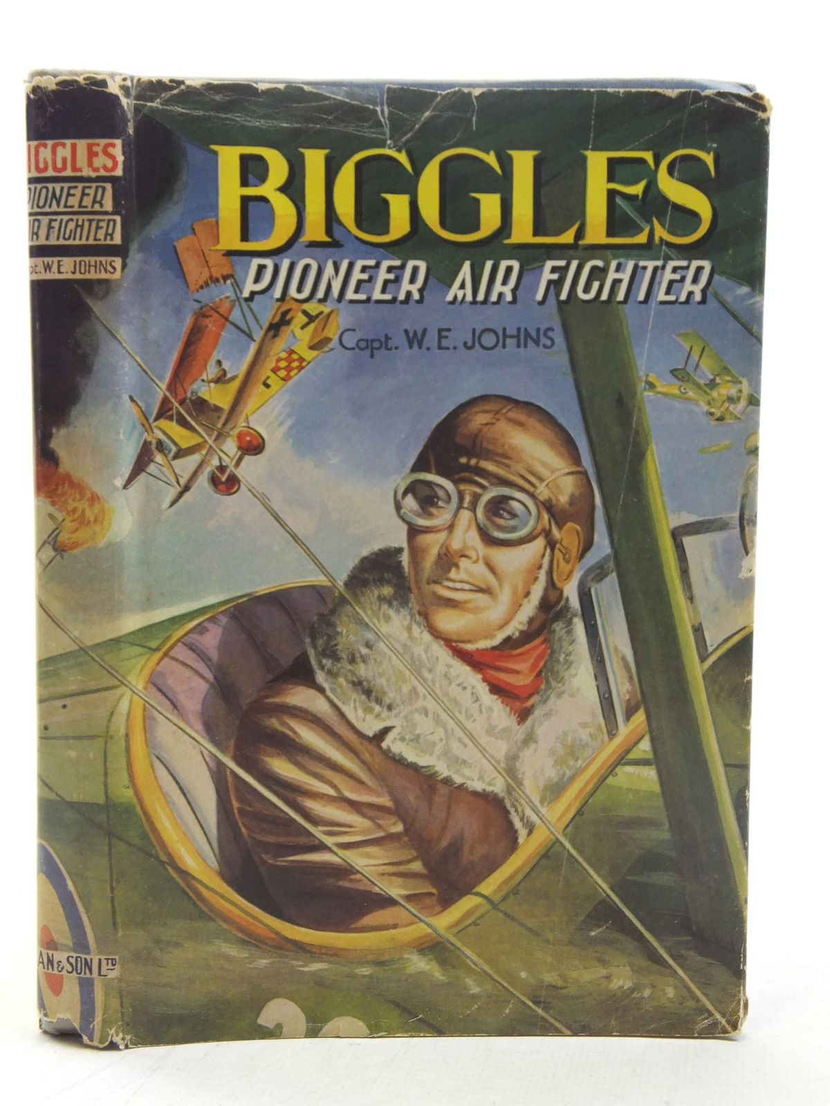 Photo of BIGGLES PIONEER AIR FIGHTER written by Johns, W.E. published by Dean & Son Ltd. (STOCK CODE: 2117613)  for sale by Stella & Rose's Books
