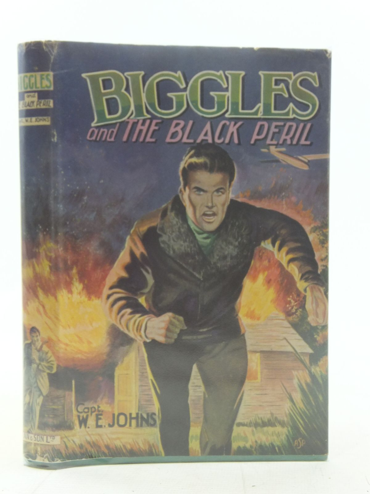 Photo of BIGGLES AND THE BLACK PERIL written by Johns, W.E. published by Dean & Son Ltd. (STOCK CODE: 2117618)  for sale by Stella & Rose's Books