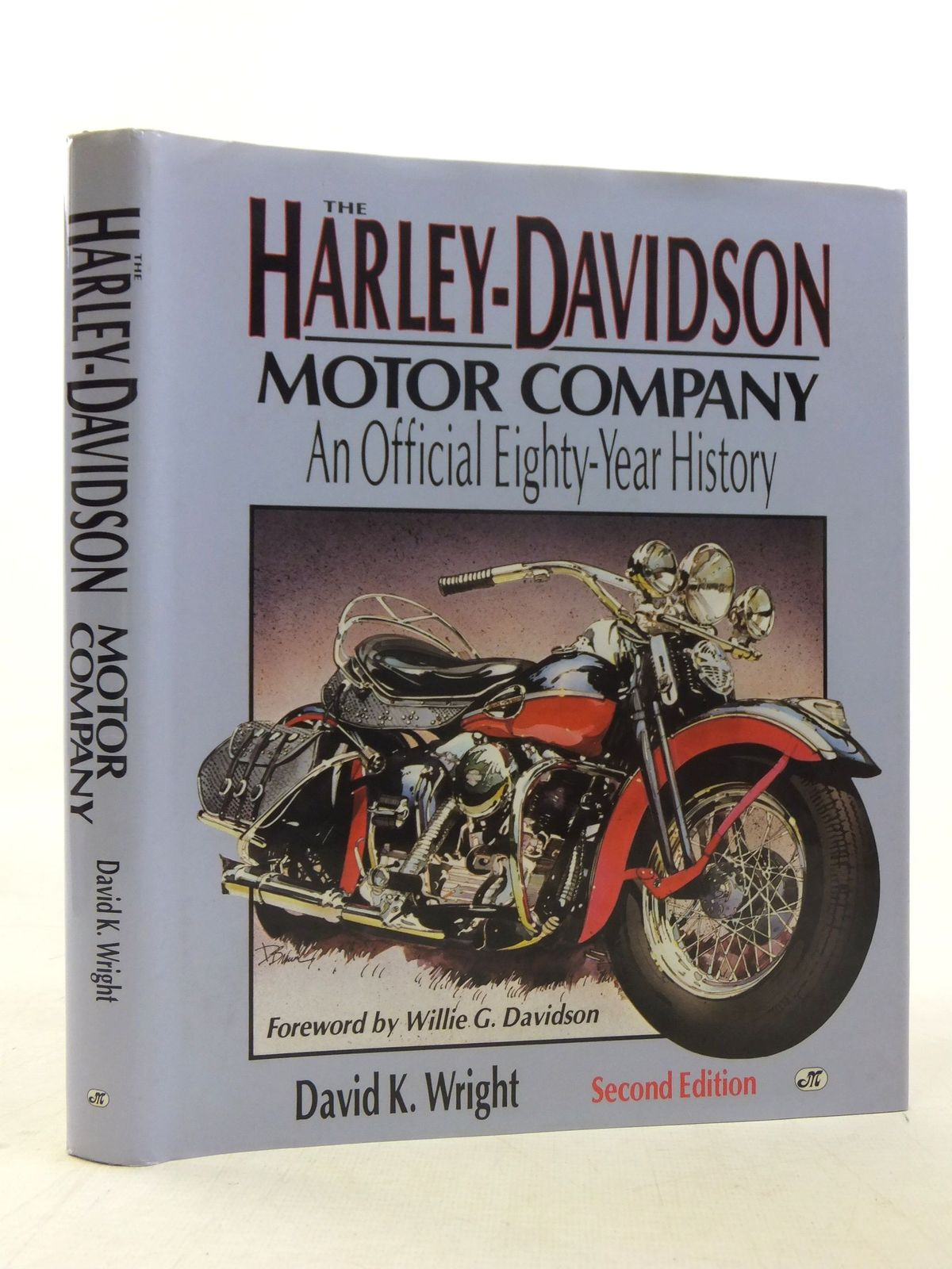 Photo of THE HARLEY-DAVIDSON MOTOR COMPANY AN OFFICIAL EIGHTY-YEAR HISTORY written by Wright, David published by Motorbooks International (STOCK CODE: 2117672)  for sale by Stella & Rose's Books