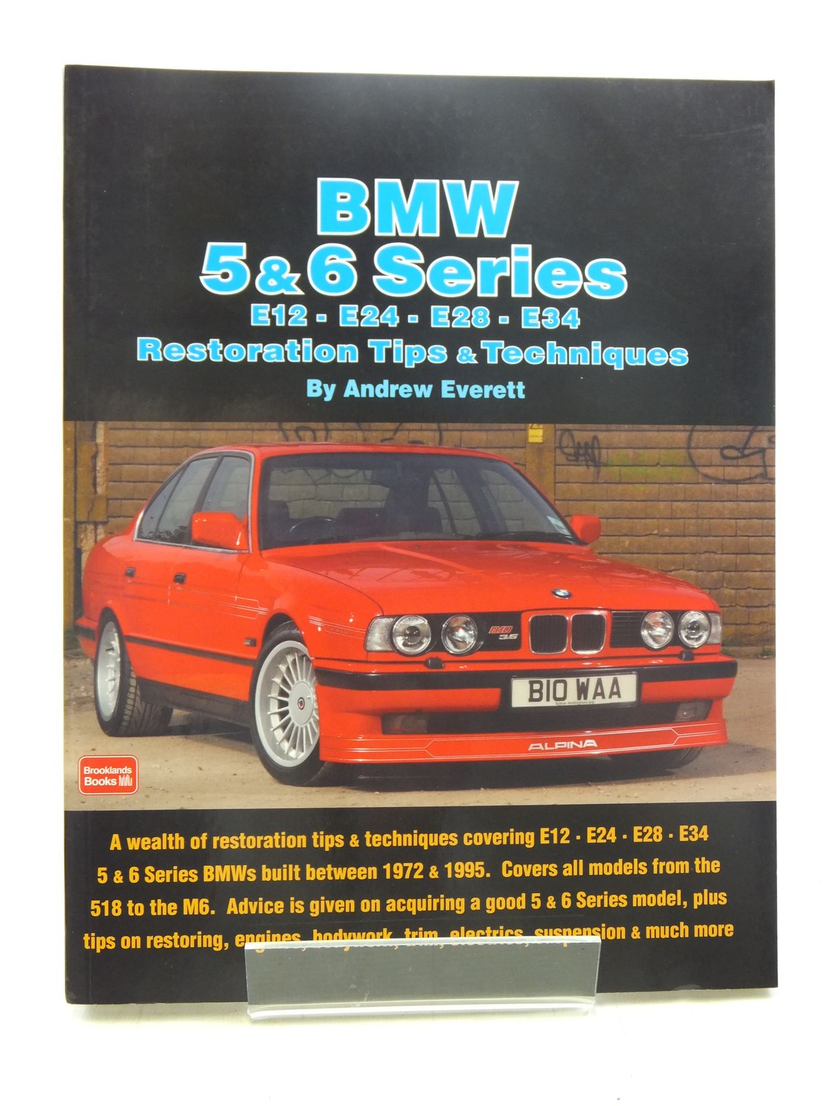 Photo of BMW 5 & 6 SERIES written by Everett, Andrew published by Brooklands Books (STOCK CODE: 2117680)  for sale by Stella & Rose's Books