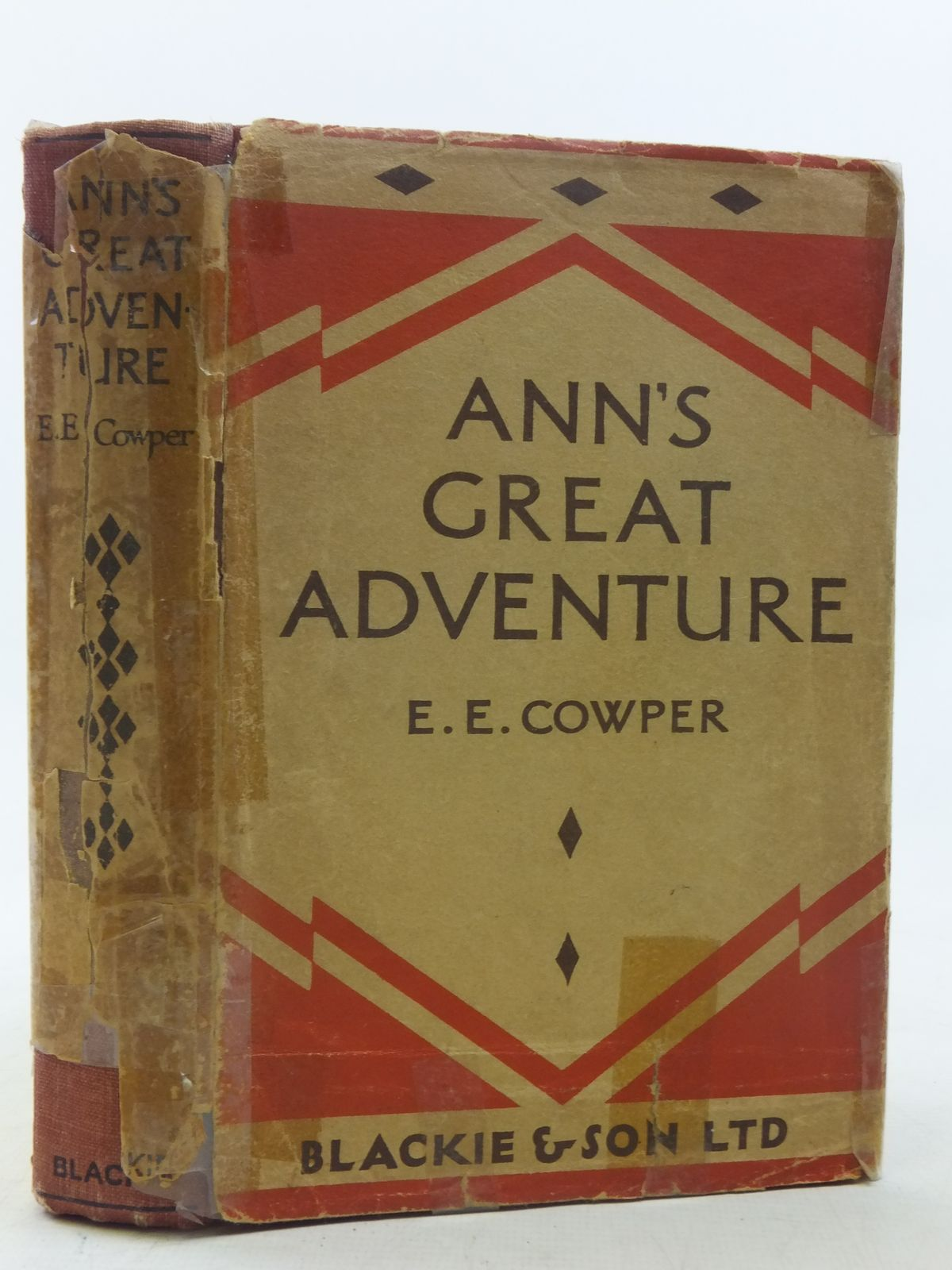 Photo of ANN'S GREAT ADVENTURE written by Cowper, E.E. published by Blackie & Son Ltd. (STOCK CODE: 2117709)  for sale by Stella & Rose's Books