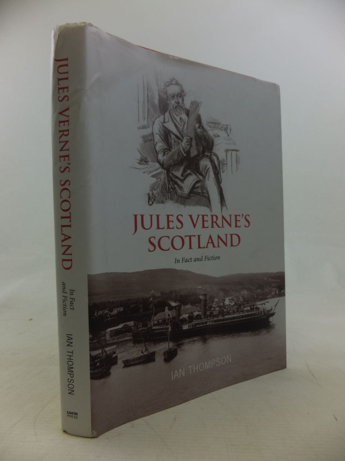 Photo of JULES VERNE'S SCOTLAND IN FACT AND FICTION written by Thompson, Ian published by Luath Press Ltd. (STOCK CODE: 2117778)  for sale by Stella & Rose's Books