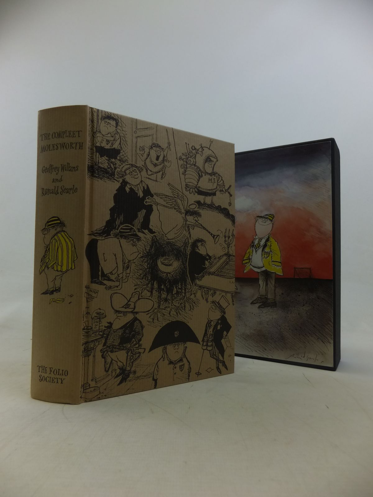 Photo of THE COMPLEET MOLESWORTH written by Willans, Geoffrey illustrated by Searle, Ronald published by Folio Society (STOCK CODE: 2117782)  for sale by Stella & Rose's Books