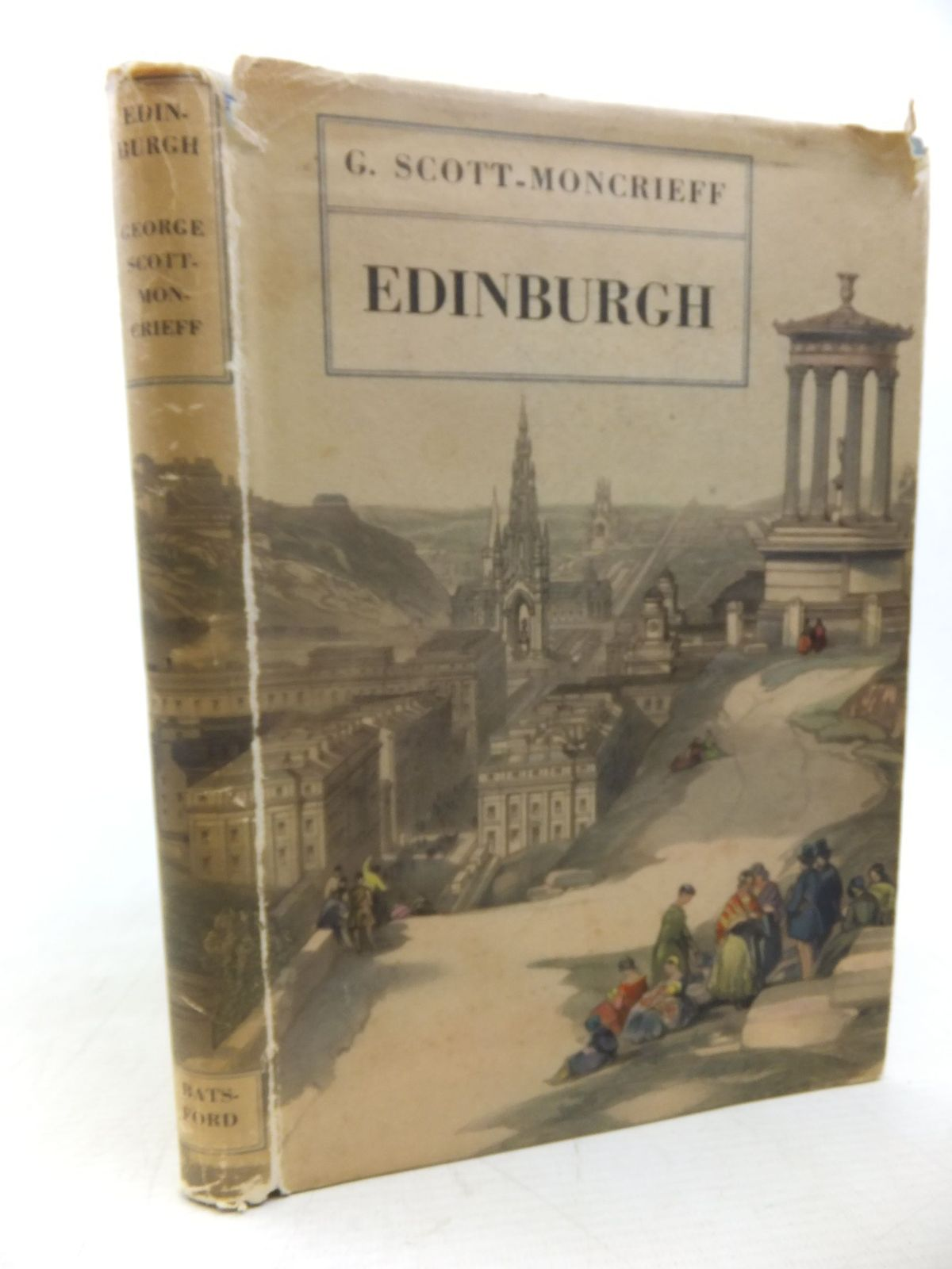 Photo of EDINBURGH written by Scott-Moncrieff, George published by B.T. Batsford (STOCK CODE: 2117807)  for sale by Stella & Rose's Books
