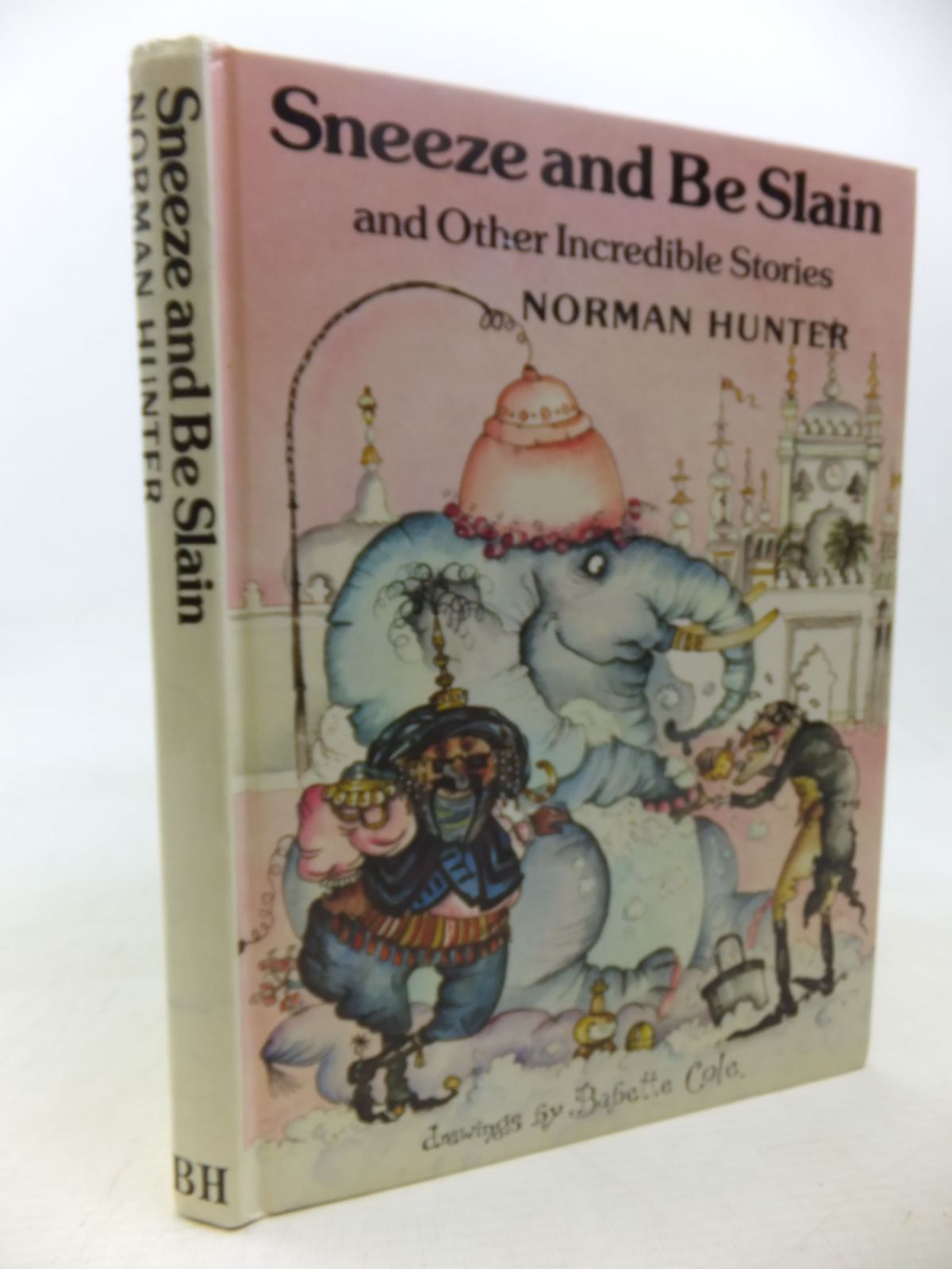 Photo of SNEEZE AND BE SLAIN written by Hunter, Norman illustrated by Cole, Babette published by The Bodley Head (STOCK CODE: 2117814)  for sale by Stella & Rose's Books