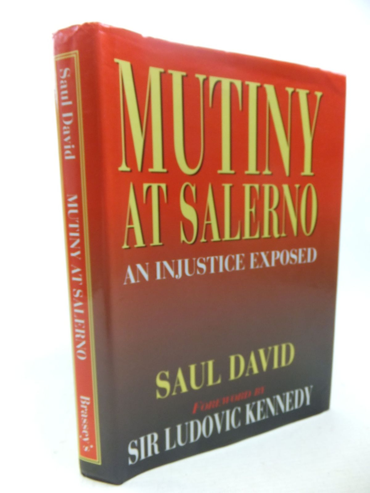 Photo of MUTINY AT SALERNO written by David, Saul<br />Kennedy, Ludovic published by Brassey's (STOCK CODE: 2117818)  for sale by Stella & Rose's Books