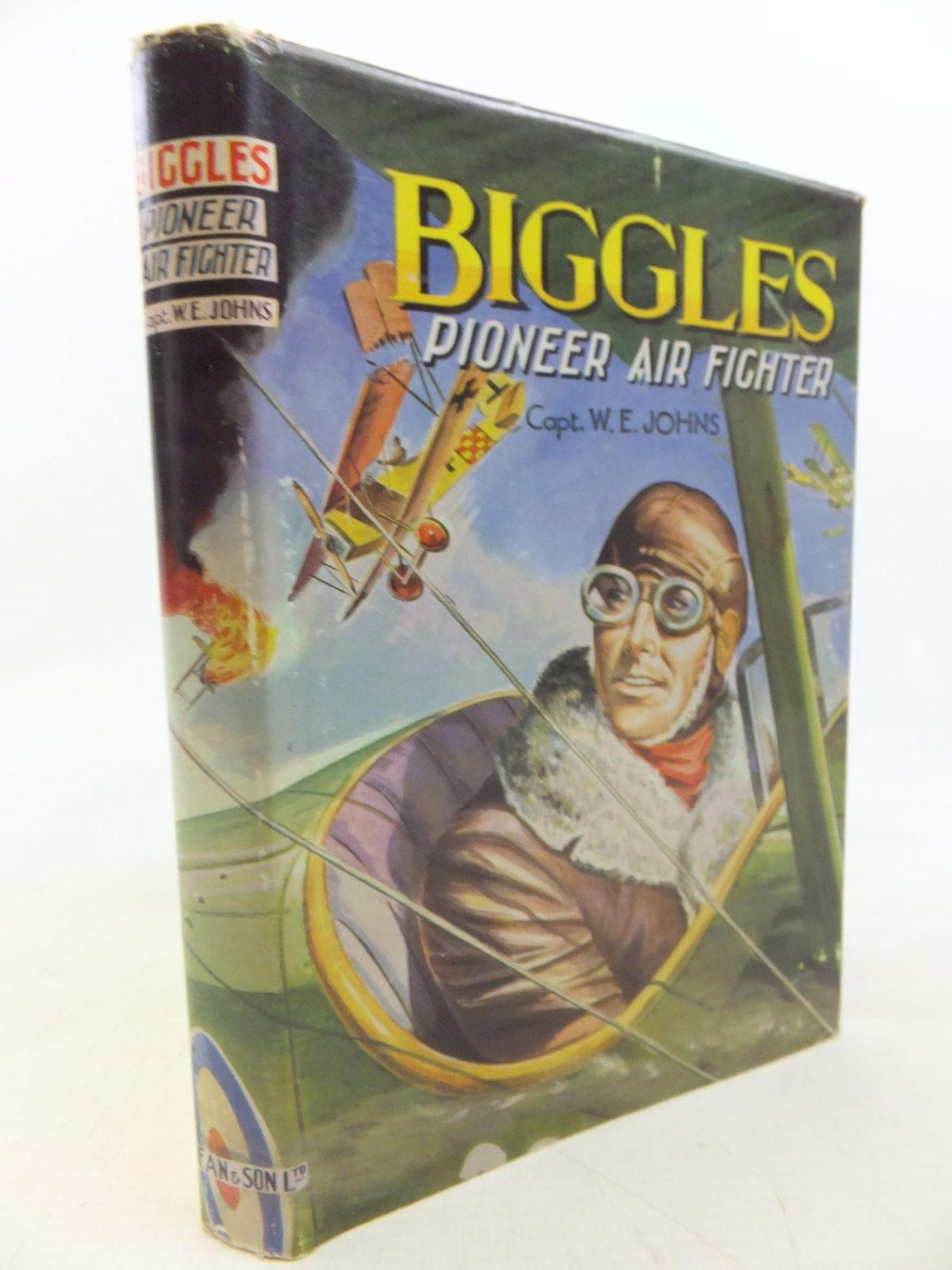 Photo of BIGGLES PIONEER AIR FIGHTER written by Johns, W.E. published by Dean & Son Ltd. (STOCK CODE: 2117857)  for sale by Stella & Rose's Books