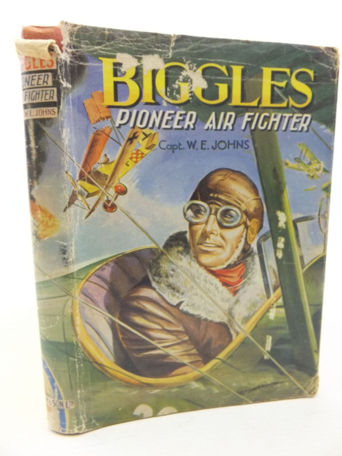 Photo of BIGGLES PIONEER AIR FIGHTER written by Johns, W.E. published by Dean & Son Ltd. (STOCK CODE: 2117862)  for sale by Stella & Rose's Books