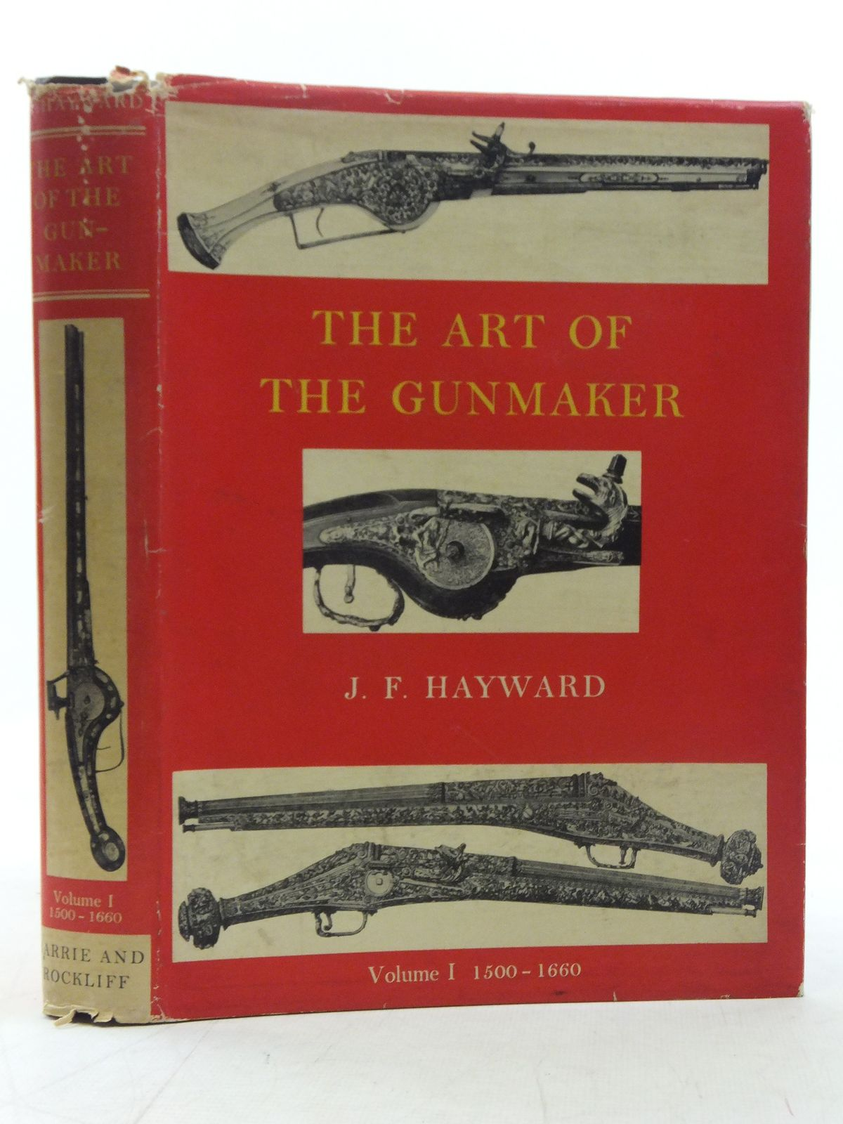 Photo of THE ART OF THE GUNMAKER VOLUME I written by Hayward, John F. published by Barrie & Rockliff (STOCK CODE: 2117934)  for sale by Stella & Rose's Books