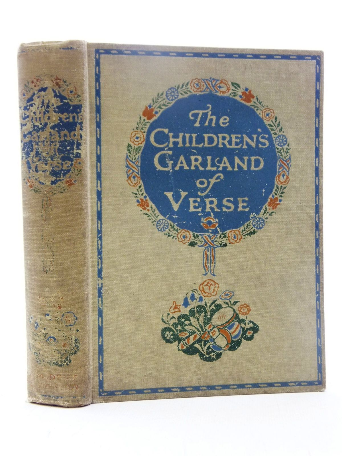 Photo of THE CHILDREN'S GARLAND OF VERSE written by Rhys, Grace<br />Longfellow, Henry Wadsworth<br />Scott, Sir Walter<br />Lear, Edward<br />et al, illustrated by Robinson, Charles published by J.M. Dent & Sons Ltd. (STOCK CODE: 2117994)  for sale by Stella & Rose's Books