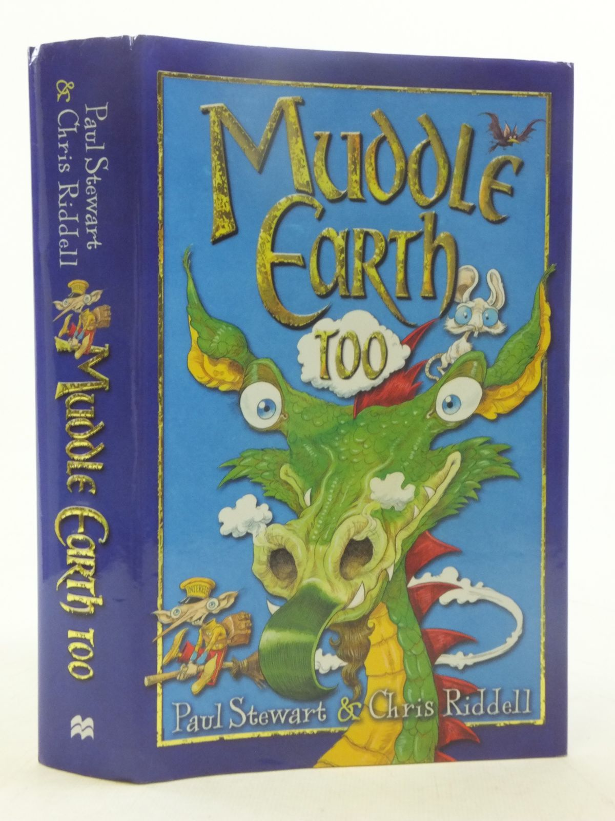 Photo of MUDDLE EARTH TOO written by Stewart, Paul<br />Riddell, Chris illustrated by Riddell, Chris published by Macmillan Children's Books (STOCK CODE: 2117996)  for sale by Stella & Rose's Books