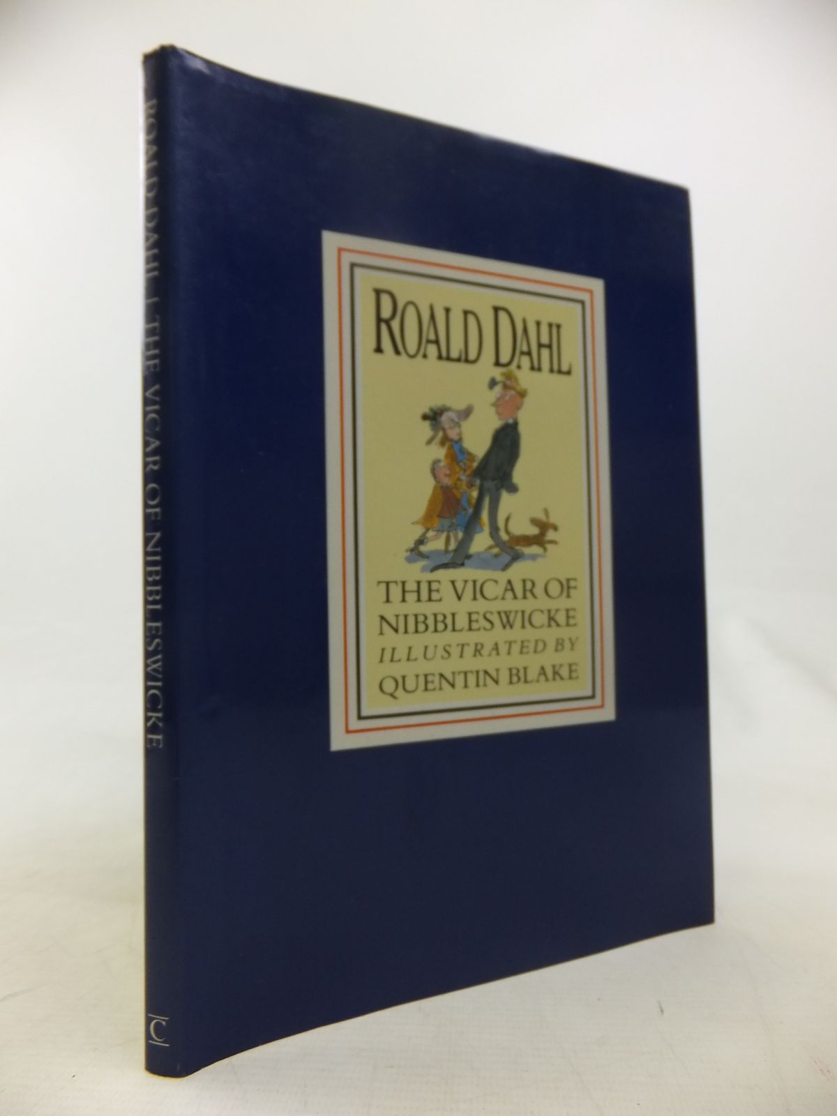 Photo of THE VICAR OF NIBBLESWICKE written by Dahl, Roald illustrated by Blake, Quentin published by Century Publishing (STOCK CODE: 2118031)  for sale by Stella & Rose's Books