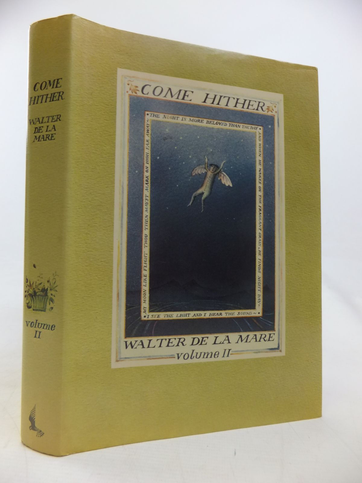 Photo of COME HITHER VOLUME II written by De La Mare, Walter illustrated by Bloomfield, Diana published by Kestrel Books (STOCK CODE: 2118036)  for sale by Stella & Rose's Books