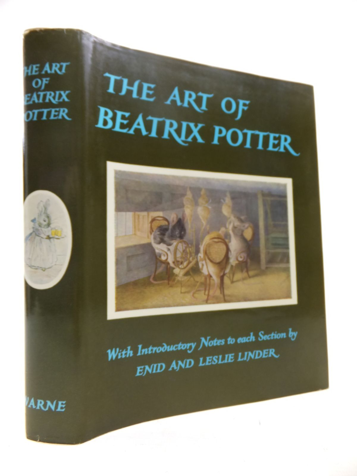 Photo of THE ART OF BEATRIX POTTER written by Moore, Anne Carroll<br />Linder, Leslie<br />Linder, Enid illustrated by Potter, Beatrix published by Frederick Warne & Co Ltd. (STOCK CODE: 2118041)  for sale by Stella & Rose's Books