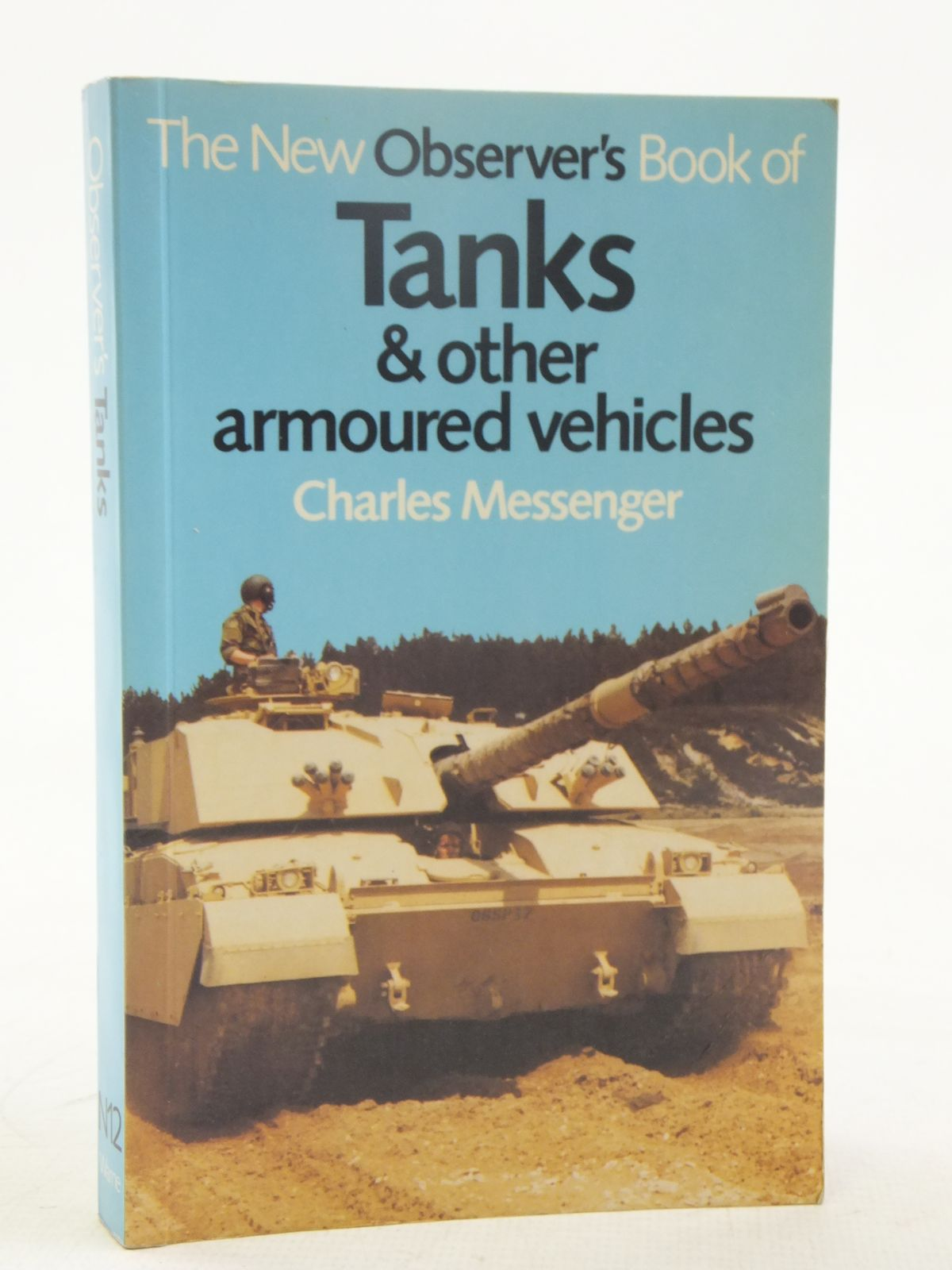 Photo of THE NEW OBSERVER'S BOOK OF TANKS & OTHER ARMOURED VEHICLES written by Messenger, Charles illustrated by Badrocke, Michael published by Frederick Warne (STOCK CODE: 2118117)  for sale by Stella & Rose's Books