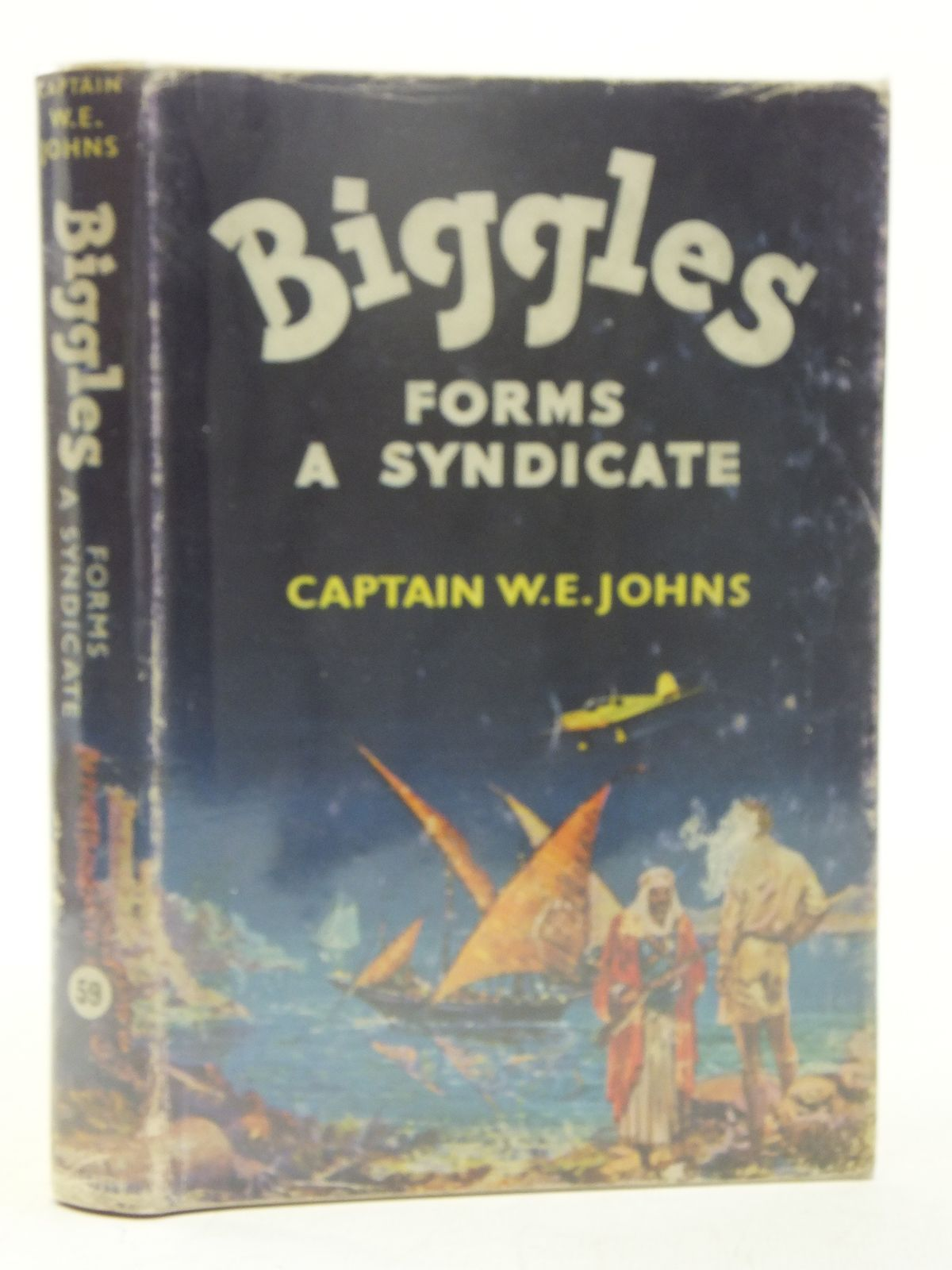 Photo of BIGGLES FORMS A SYNDICATE written by Johns, W.E. illustrated by Stead,  published by Hodder & Stoughton (STOCK CODE: 2118142)  for sale by Stella & Rose's Books