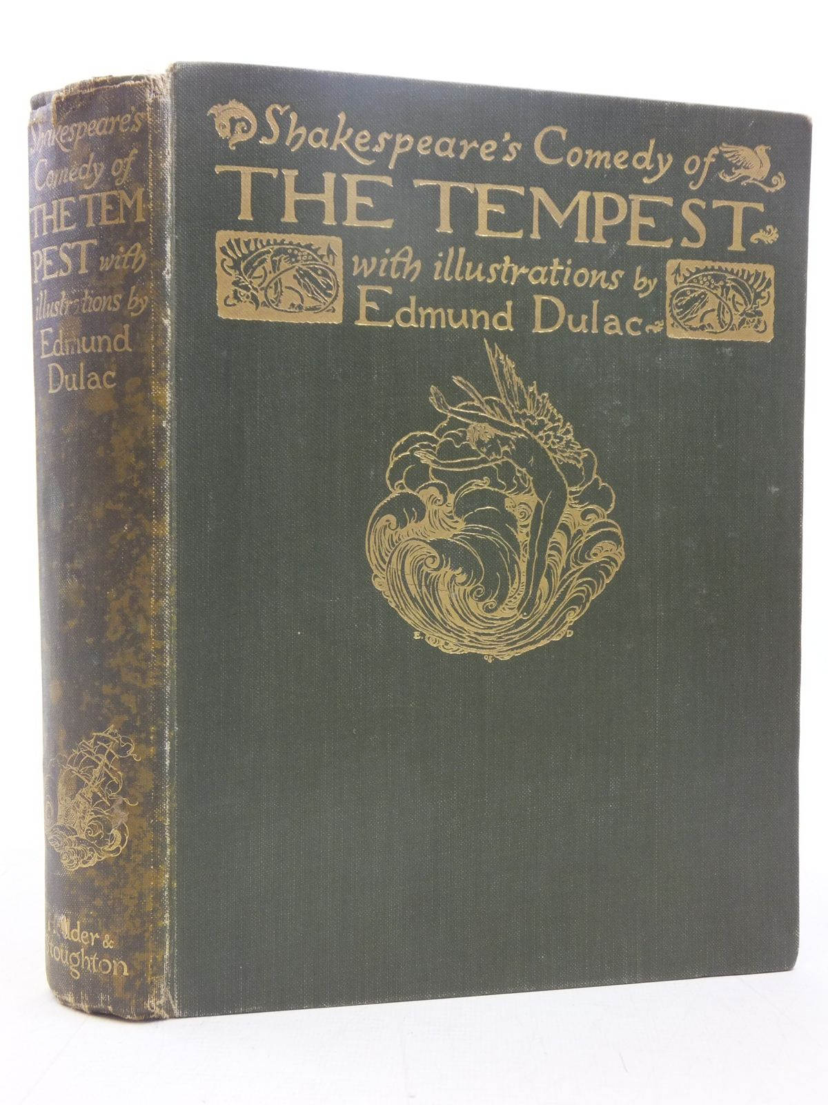 Photo of SHAKESPEARE'S COMEDY OF THE TEMPEST written by Shakespeare, William illustrated by Dulac, Edmund published by Hodder & Stoughton (STOCK CODE: 2118167)  for sale by Stella & Rose's Books
