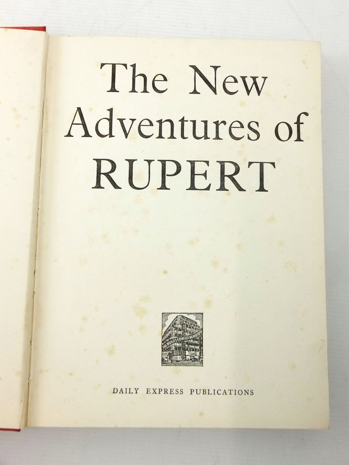 Photo of RUPERT ANNUAL 1936 - THE NEW ADVENTURES OF RUPERT written by Bestall, Alfred illustrated by Bestall, Alfred published by Daily Express (STOCK CODE: 2118169)  for sale by Stella & Rose's Books