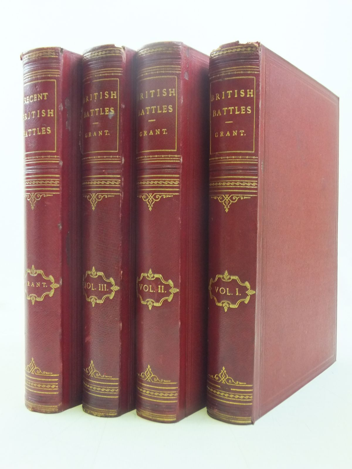 Photo of BRITISH BATTLES ON LAND AND SEA (4 VOLUMES) written by Grant, James published by Cassell, Petter, Galpin & Co., Cassell & Company Limited (STOCK CODE: 2118170)  for sale by Stella & Rose's Books