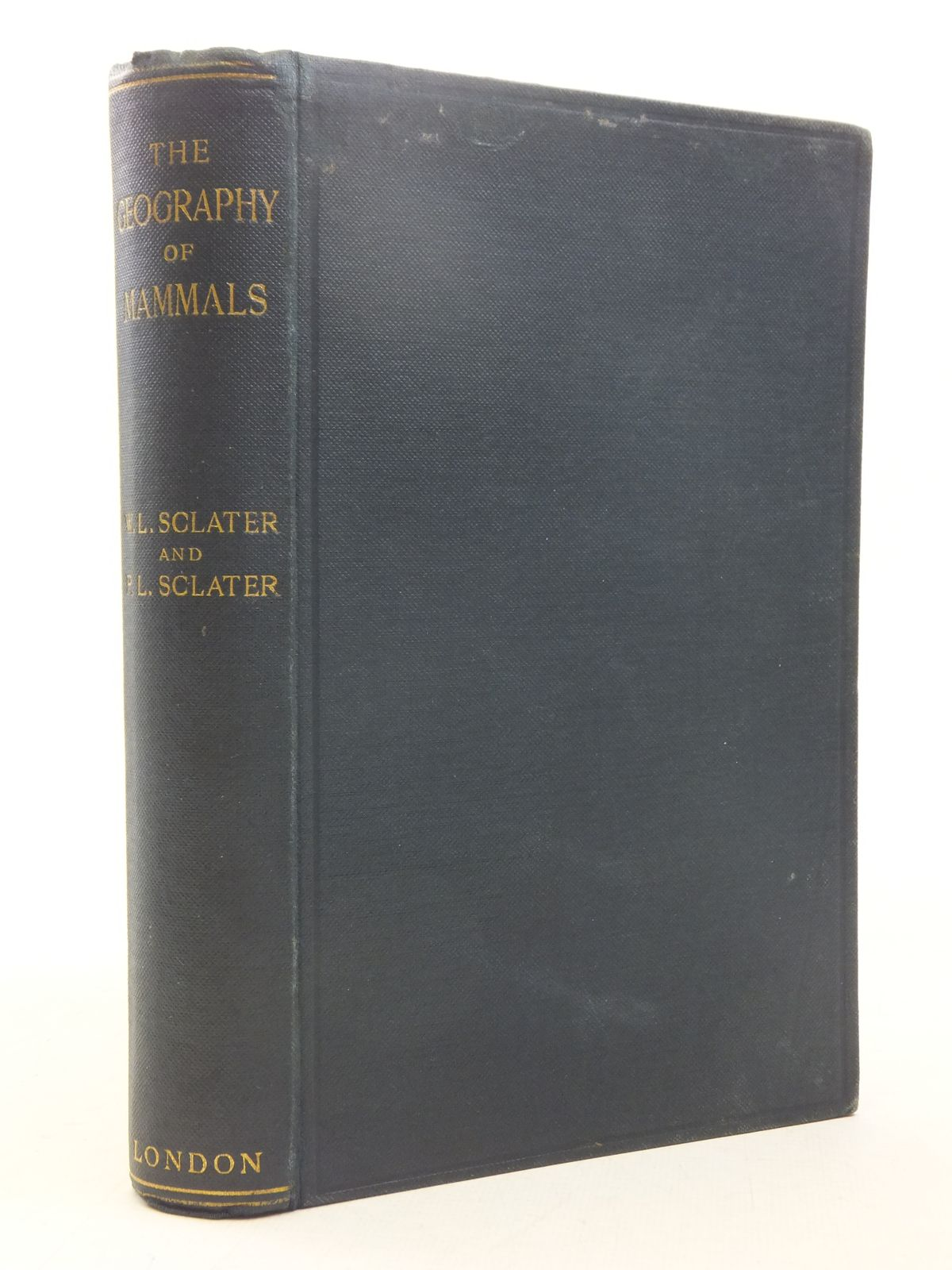 Photo of THE GEOGRAPHY OF MAMMALS written by Sclater, William Lutley<br />Sclater, Philip Lutley published by Kegan Paul, Trench, Trubner & Co. Ltd. (STOCK CODE: 2118173)  for sale by Stella & Rose's Books