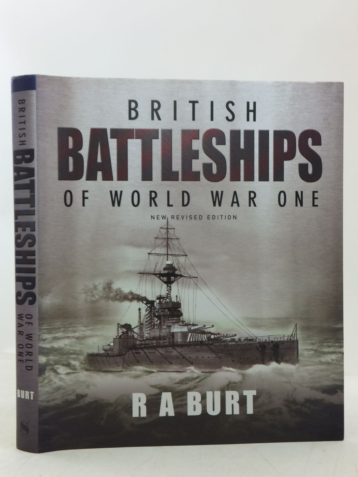 Photo of BRITISH BATTLESHIPS OF WORLD WAR ONE written by Burt, R.A. published by Seaforth Publishing (STOCK CODE: 2118279)  for sale by Stella & Rose's Books
