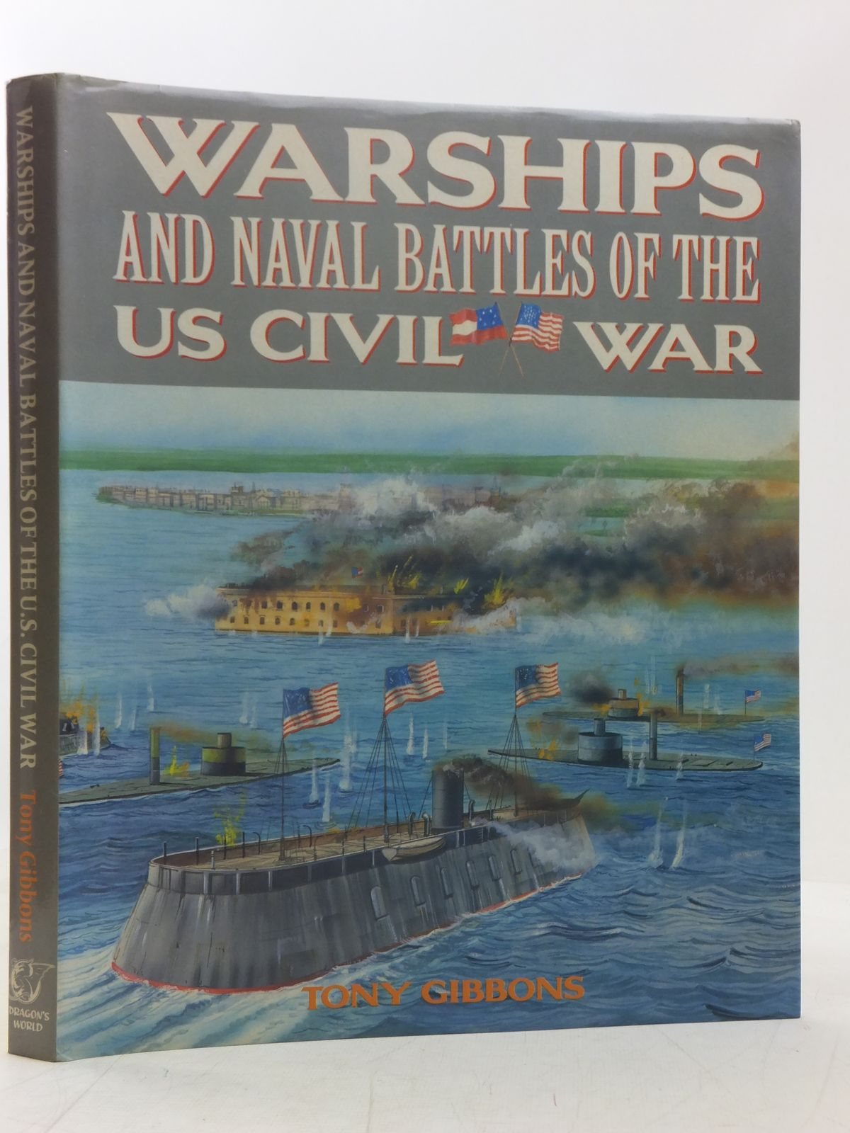 Photo of WARSHIPS AND NAVAL BATTLES OF THE US CIVIL WAR written by Gibbons, Tony published by Dragon's World (STOCK CODE: 2118282)  for sale by Stella & Rose's Books