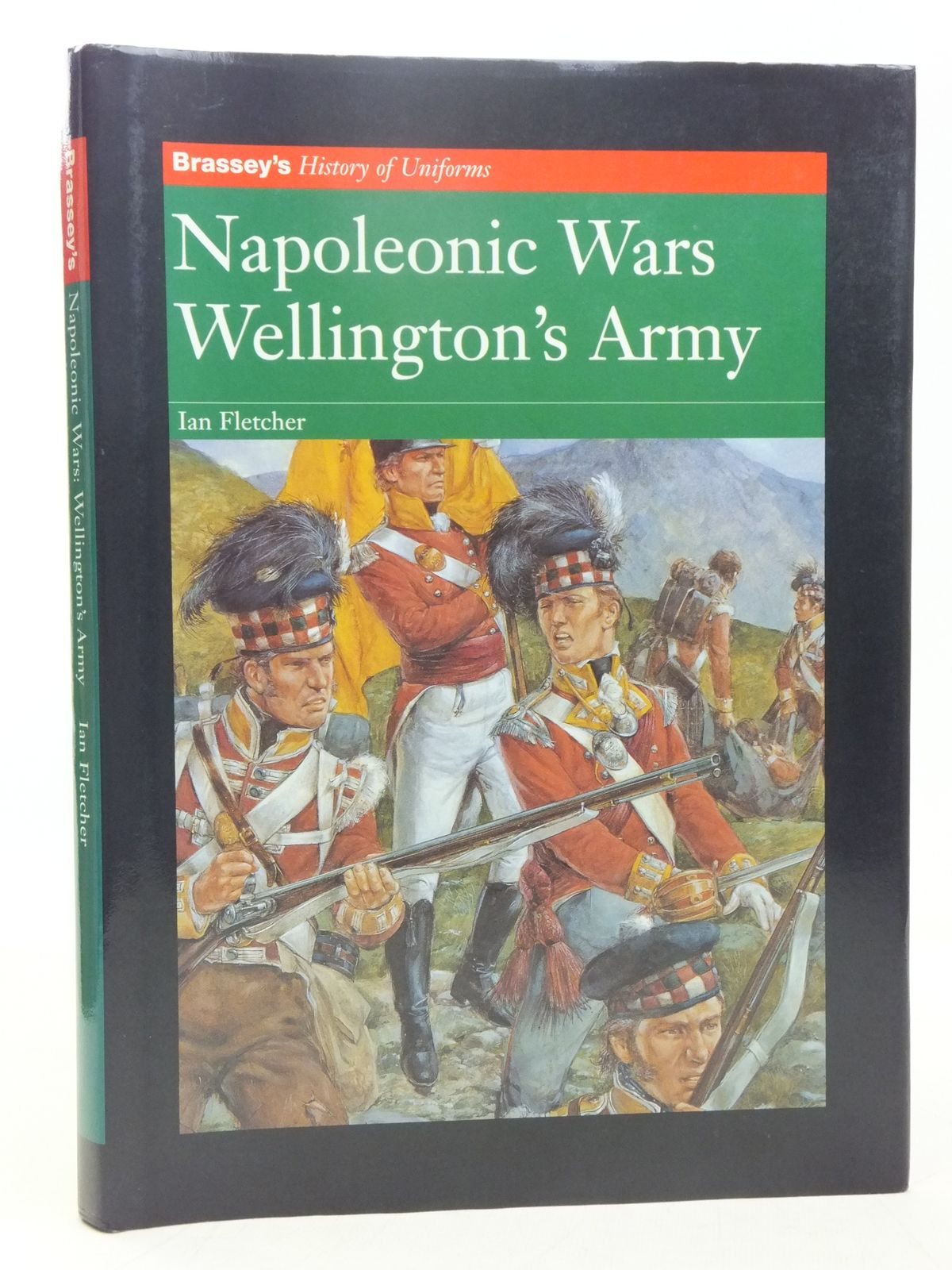 Photo of NAPOLEONIC WARS WELLINGTON'S ARMY written by Fletcher, Ian illustrated by Hook, Richard published by Brassey's (STOCK CODE: 2118294)  for sale by Stella & Rose's Books