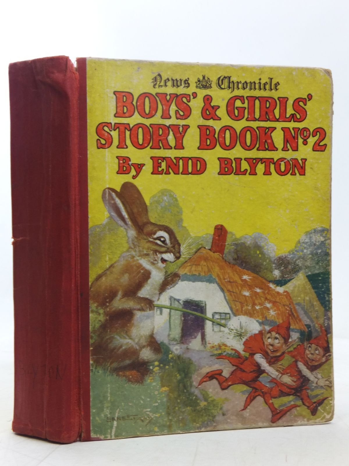 Photo of BOYS' AND GIRLS' STORY BOOK NO. 2 written by Blyton, Enid illustrated by Nixon, Katherine<br />Knowles, Horace J.<br />Onslow, Lola published by News Chronicle Ltd. (STOCK CODE: 2118303)  for sale by Stella & Rose's Books