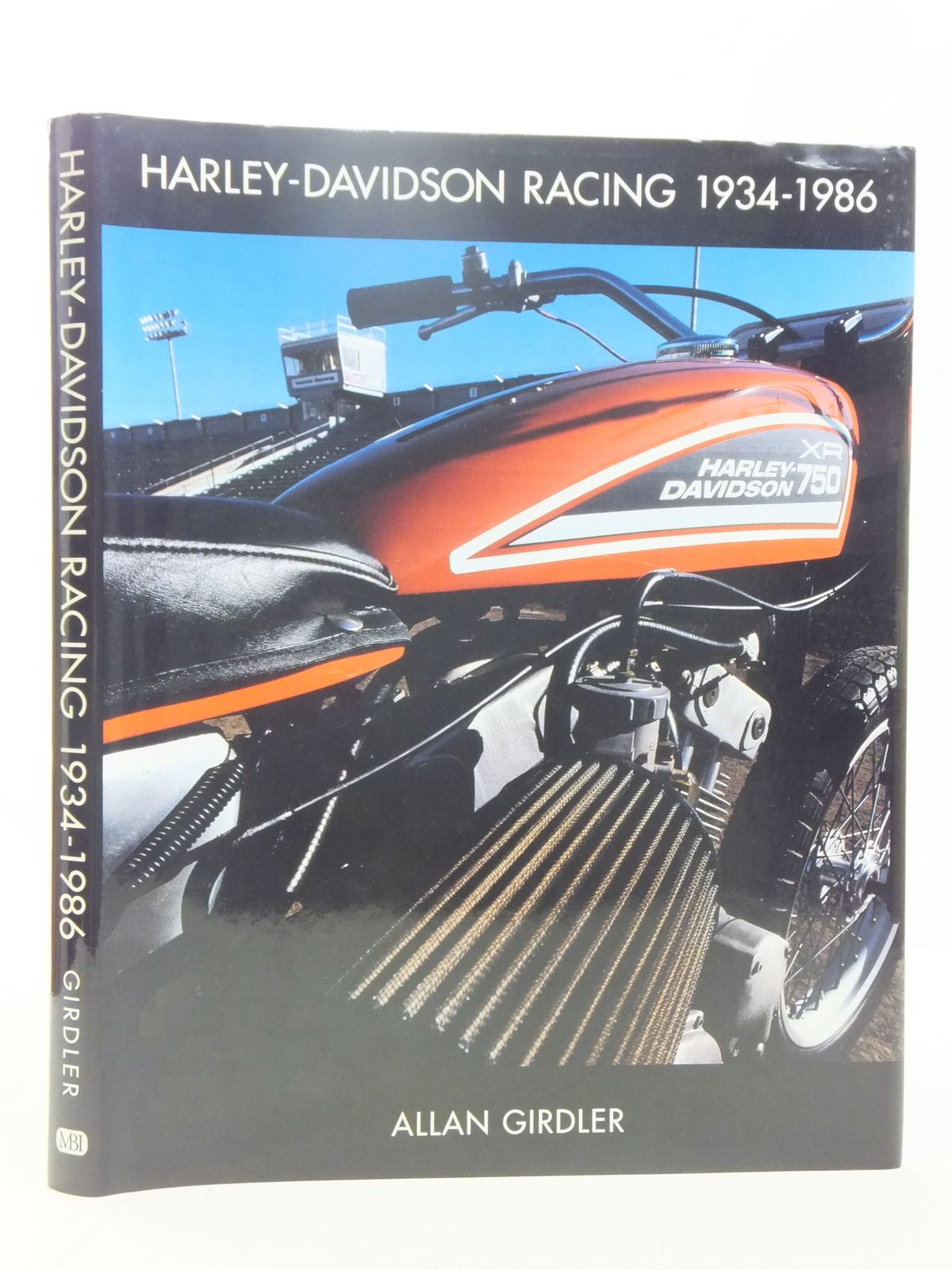 Photo of HARLEY-DAVIDSON RACING 1934-1986 written by Girdler, Allan published by MBI Publishing (STOCK CODE: 2118305)  for sale by Stella & Rose's Books