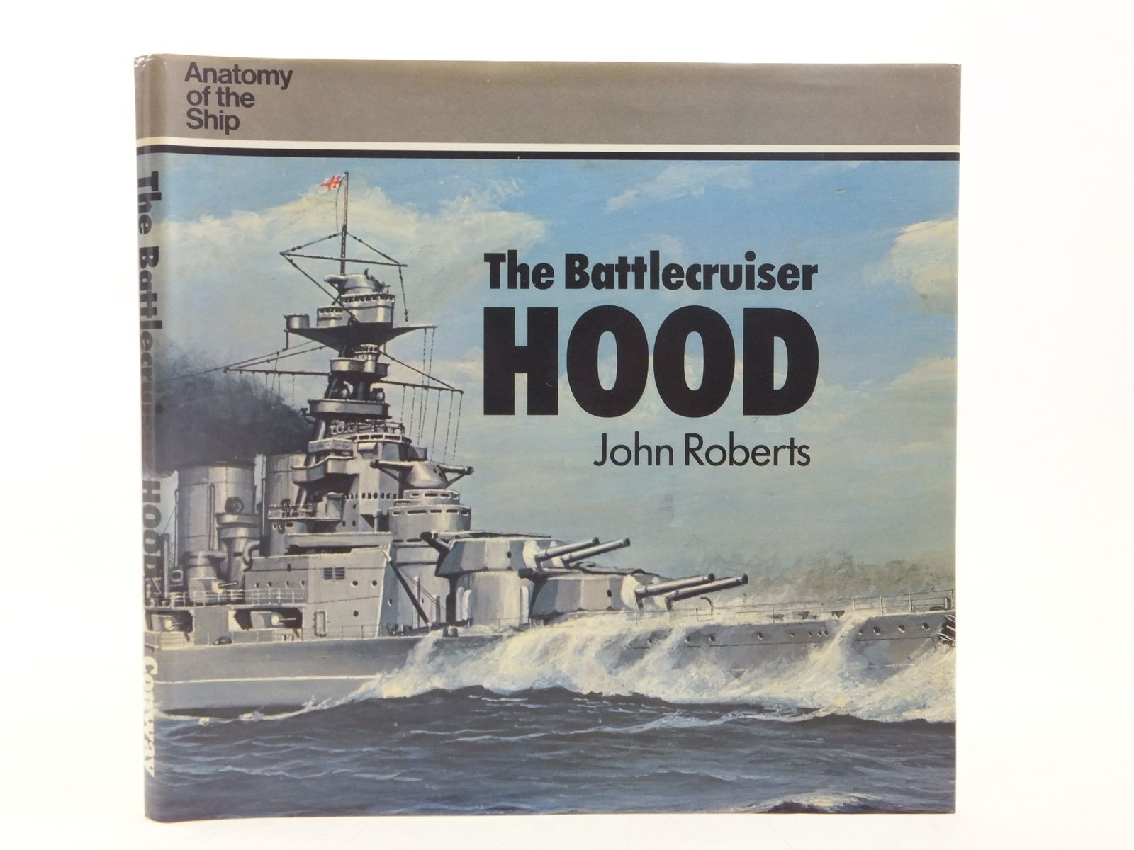 Photo of THE BATTLECRUISER HOOD written by Roberts, John published by Conway Maritime Press (STOCK CODE: 2118308)  for sale by Stella & Rose's Books
