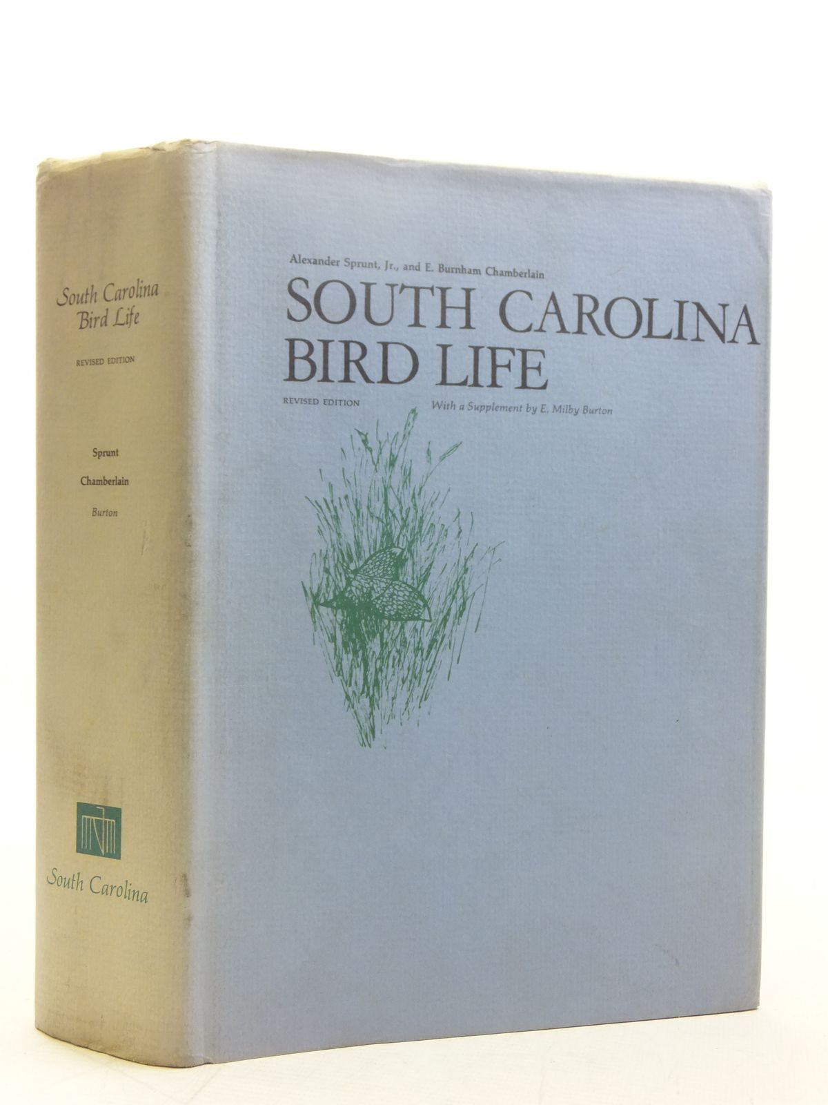 Photo of SOUTH CAROLINA BIRD LIFE written by Sprunt, Alexander<br />Chamberlain, E. Burnham illustrated by Jaques, Francis Lee<br />Dick, John Henry<br />Peterson, Roger Tory<br />et al., published by University of South Carolina Press (STOCK CODE: 2118321)  for sale by Stella & Rose's Books
