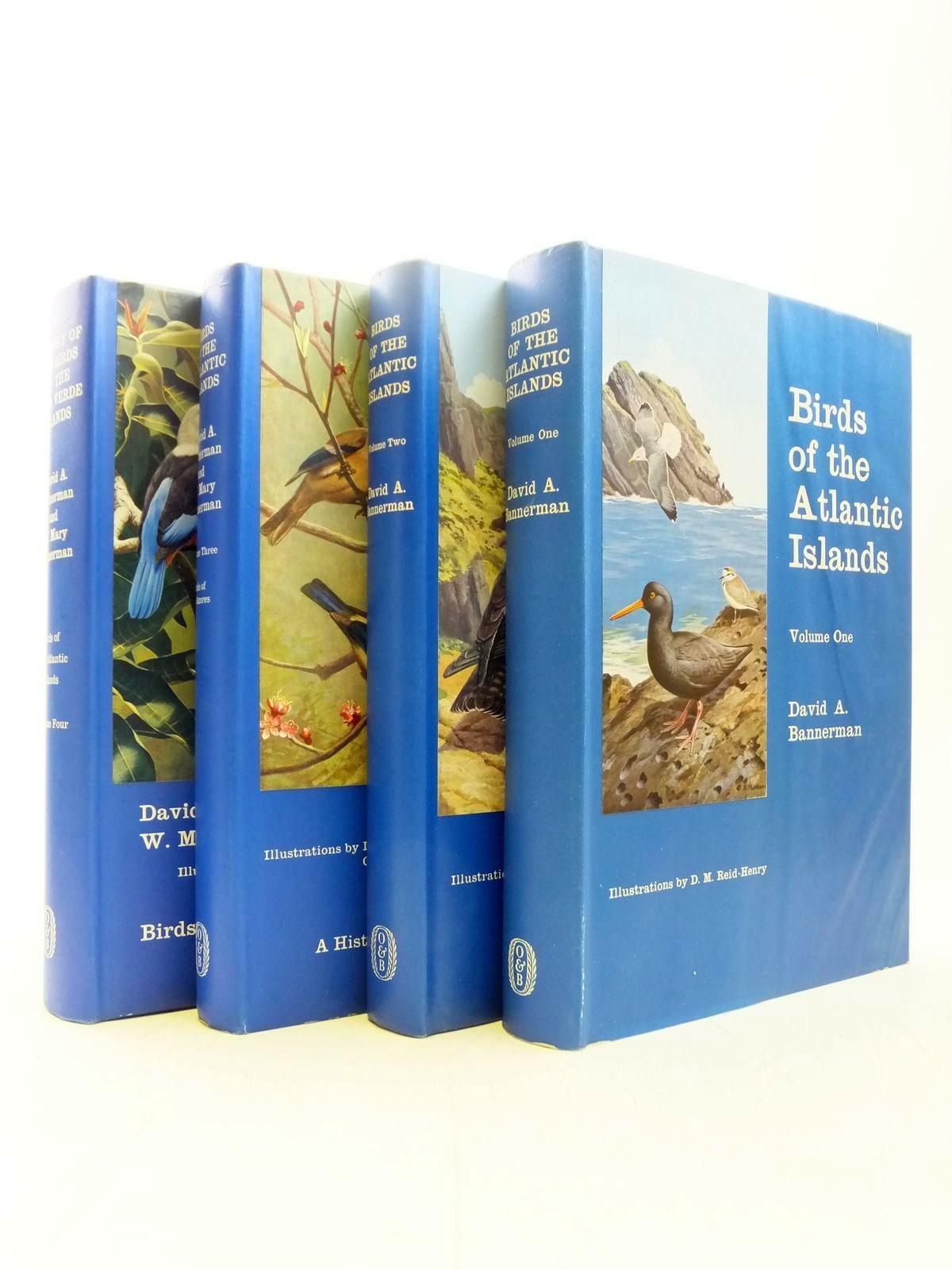 Photo of BIRDS OF THE ATLANTIC ISLANDS 4 VOLUMES