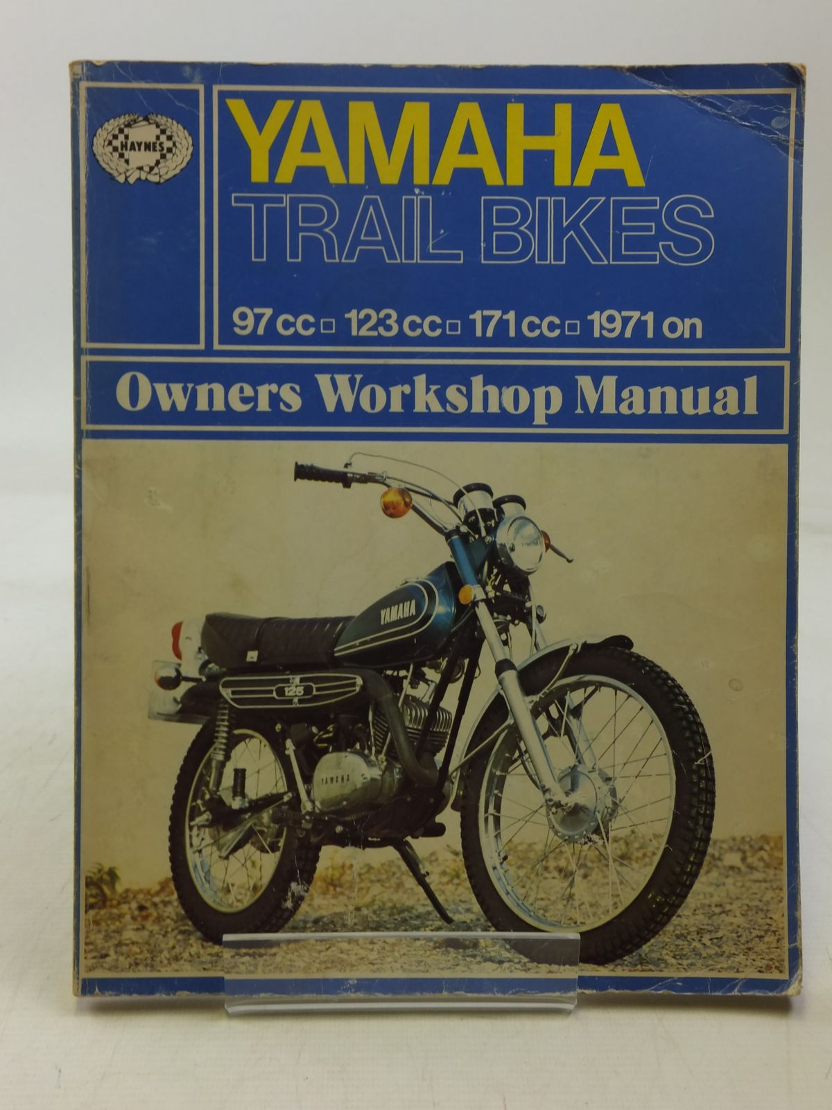 Photo of YAMAHA TRAIL BIKES OWNERS WORKSHOP MANUAL written by Darlington, Mansur published by J.H. Haynes & Co. Ltd. (STOCK CODE: 2118335)  for sale by Stella & Rose's Books