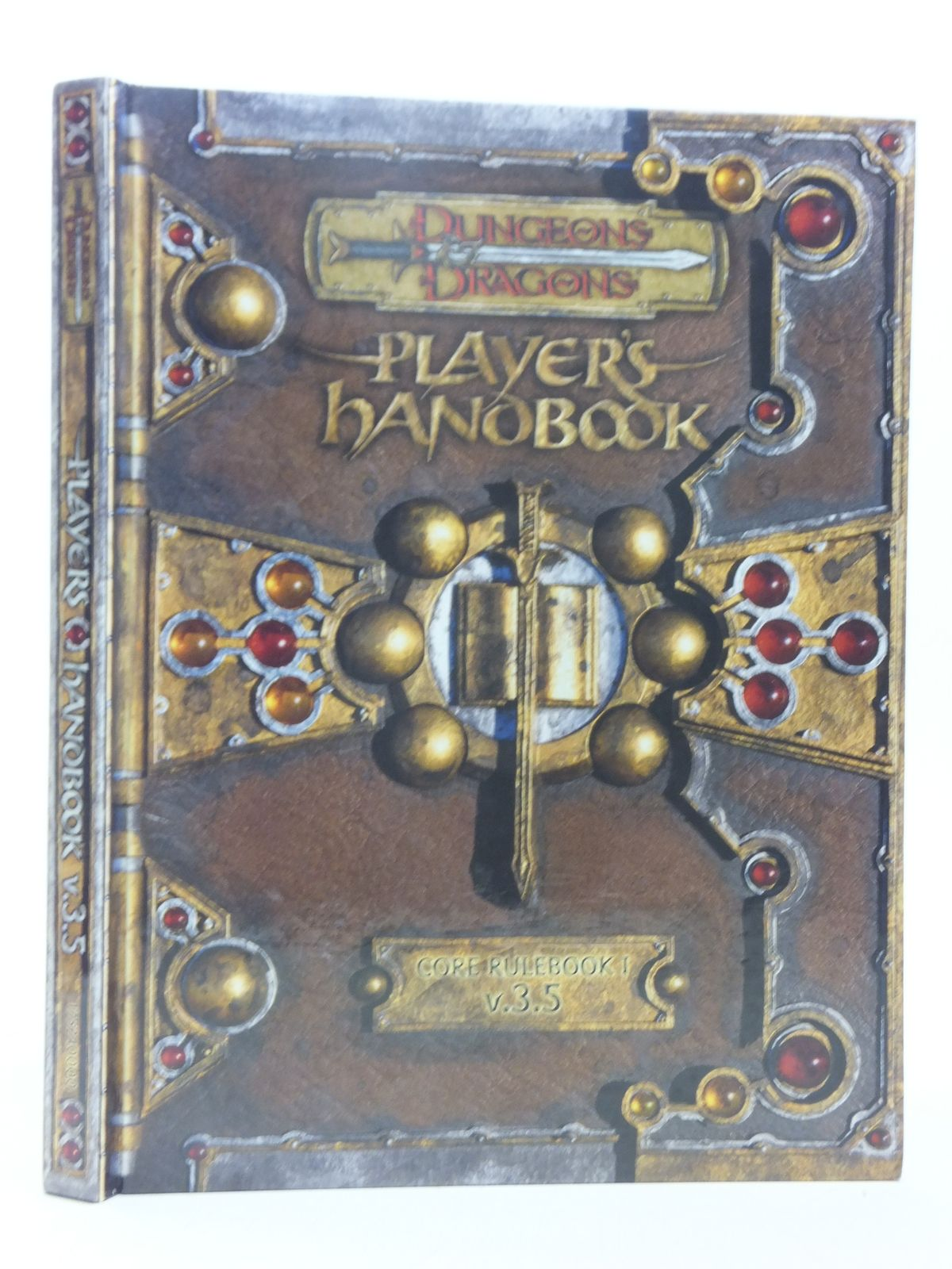 Photo of DUNGEONS AND DRAGONS PLAYER'S HANDBOOK CORE RULEBOOK I V.3.5 written by Tweet, Jonathan<br />Cooke, Monte<br />Williams, Skip published by Wizards Of The Coast (STOCK CODE: 2118336)  for sale by Stella & Rose's Books
