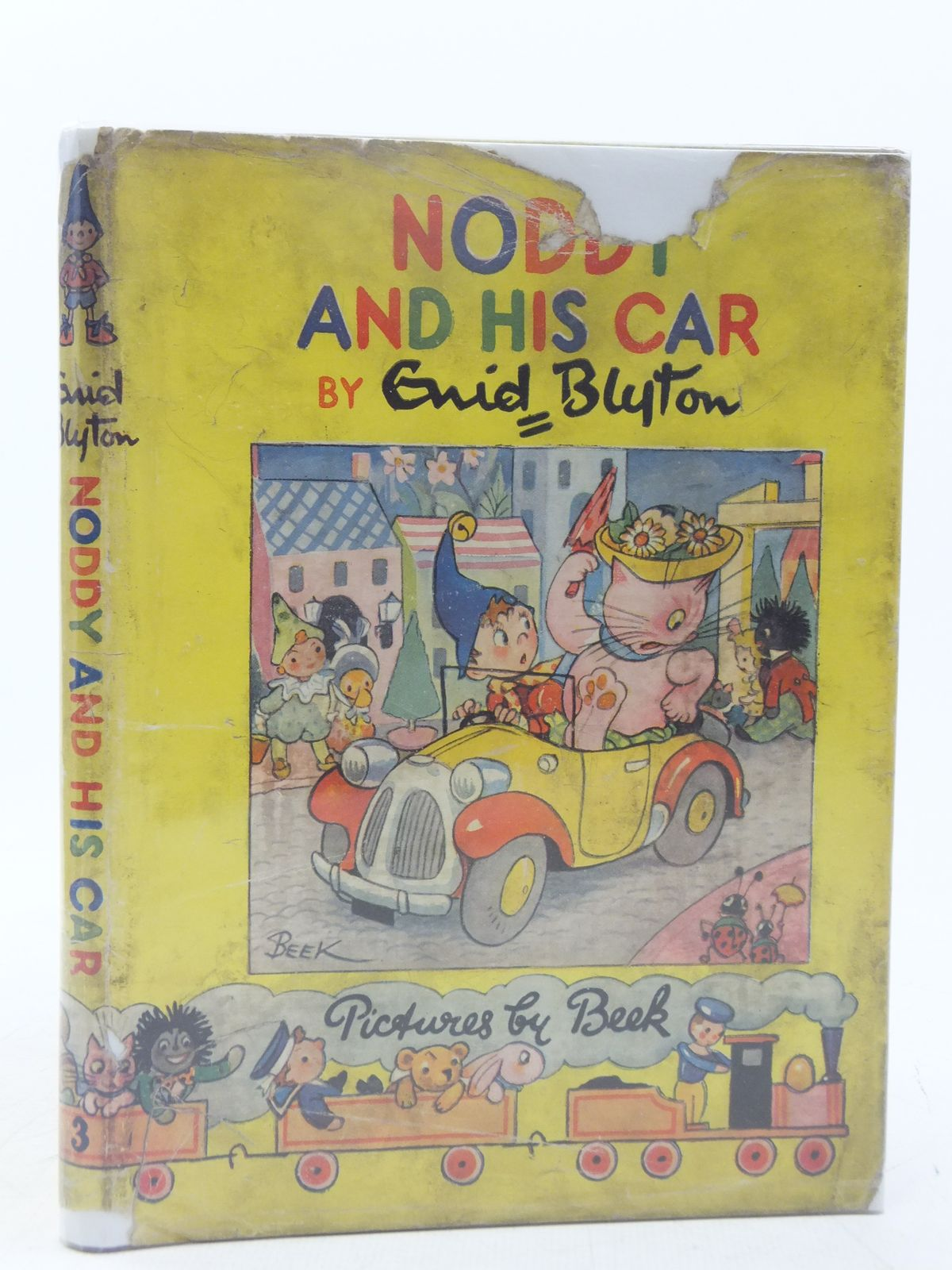 Photo of NODDY AND HIS CAR written by Blyton, Enid illustrated by Beek,  published by Sampson Low, Marston & Co. Ltd. (STOCK CODE: 2118358)  for sale by Stella & Rose's Books